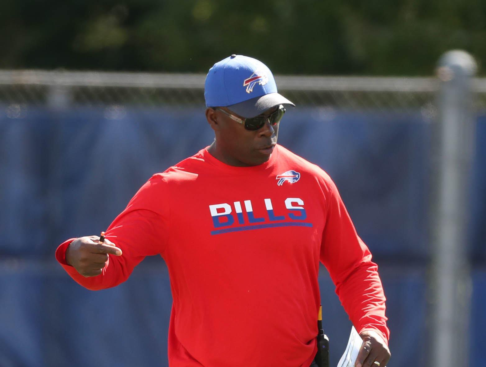 The Bills have responded well to the coaching of offensive coordinator Anthony Lynn. (James P. McCoy/Buffalo News)