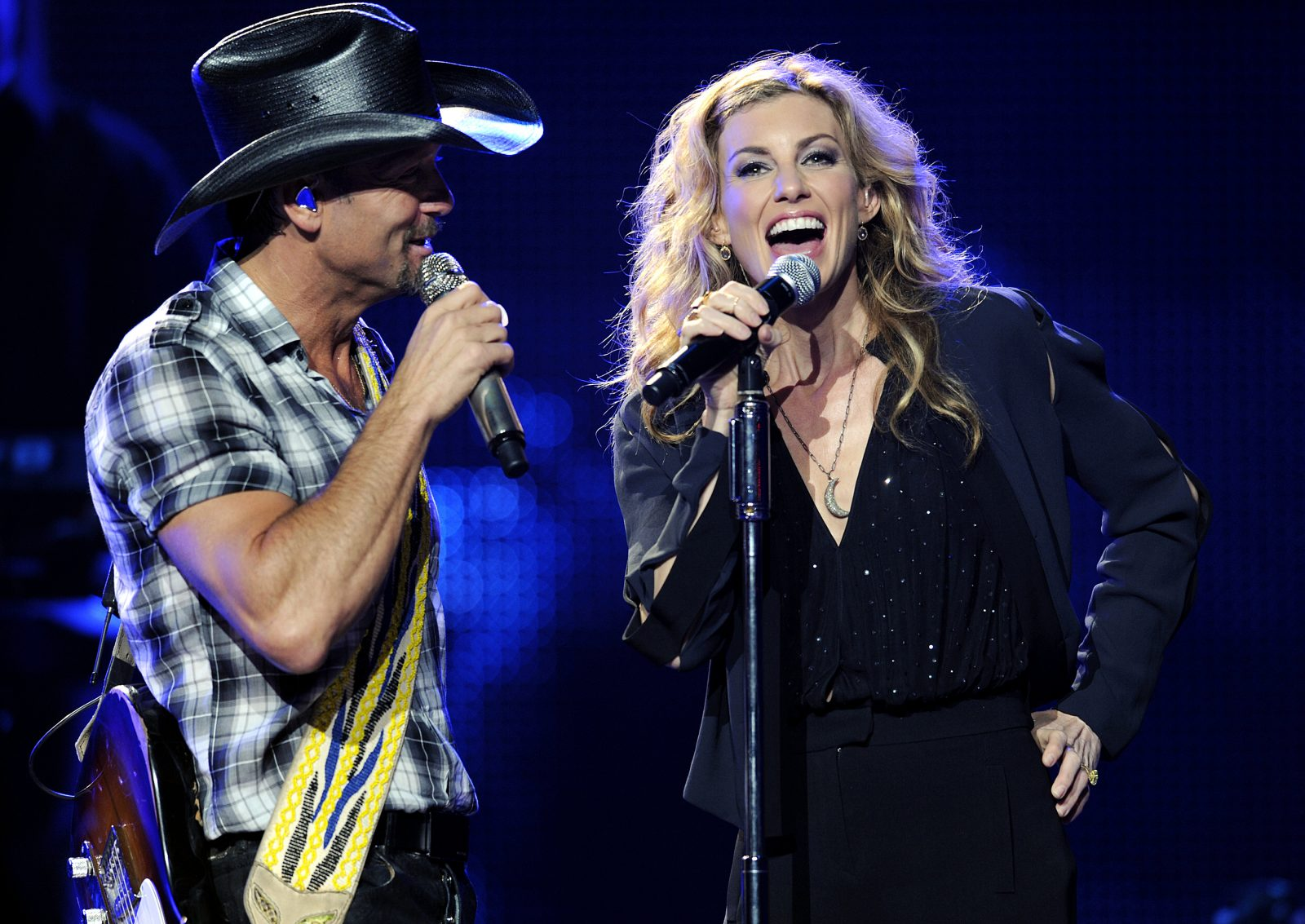 Tim McGraw and Faith Hill, here performing in 2012 in Melbourne, Australia, are coming to Buffalo next year. (Martin Philbey/Getty Images for Danda Films)