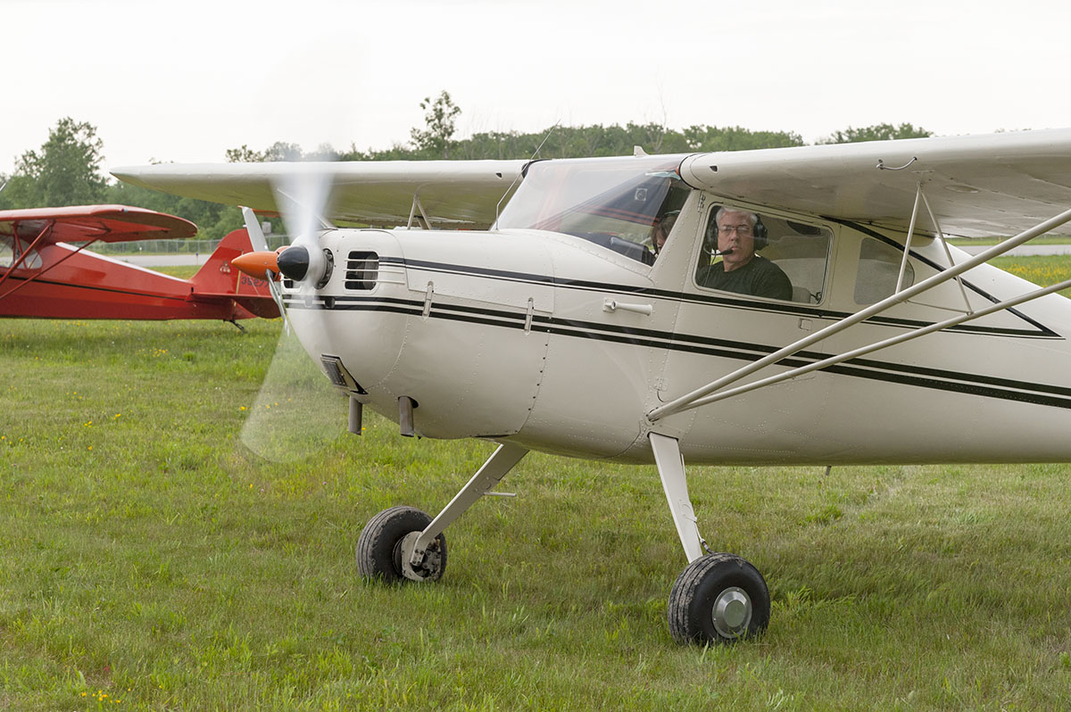 Pilot Paul Rosiek of Hamburg, N.Y., sits in his Cessna airplane at the Lancaster Airport in an undated photo. Rosiek died in a Sept. 25, 2016 mid-air collision above North Collins, N.Y. along with pilot Richard Walker and Walker's wife, Kathleen Walker, of Eden. (Courtesy of James Cavanaugh)