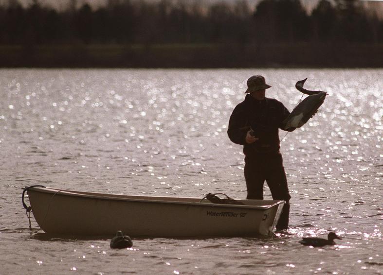 Waterfowl hunting season opens on Saturday in Western New York. (Buffalo News file photo)