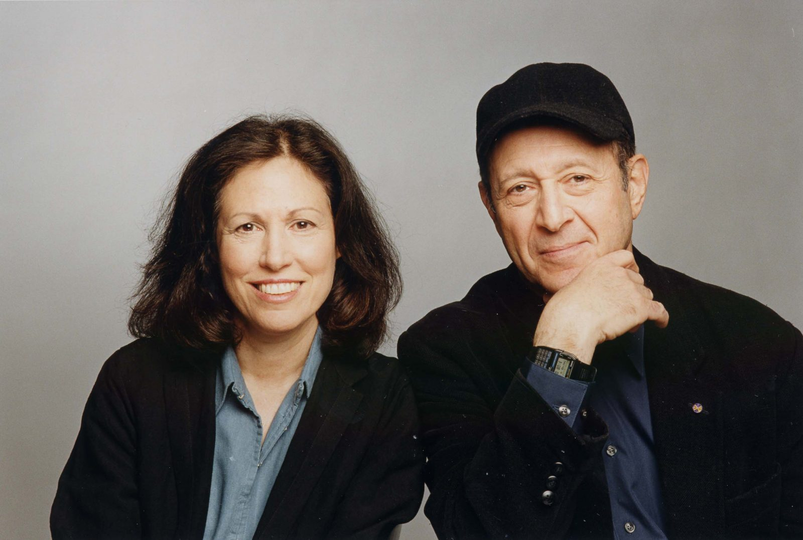 Steve Reich, here with his wife, Beryl Korot