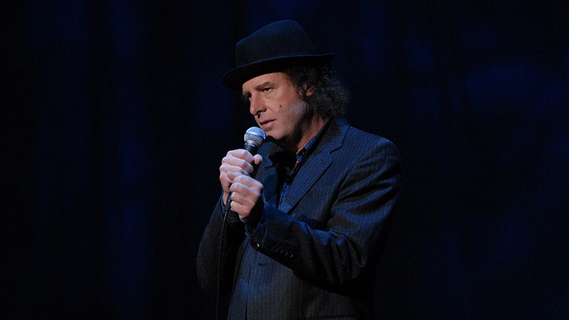 Steven Wright is known for his two albums, 'I Have a Pony' and 'I Still Have a Pony.' (Photo by Jorge Rios)