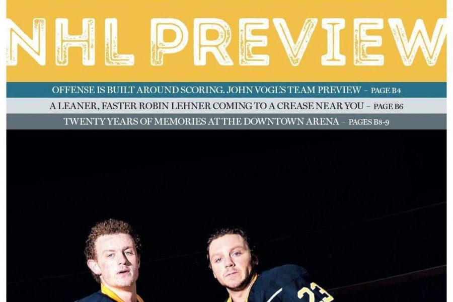 Cover to cover: A look inside The News' annual NHL Preview Section