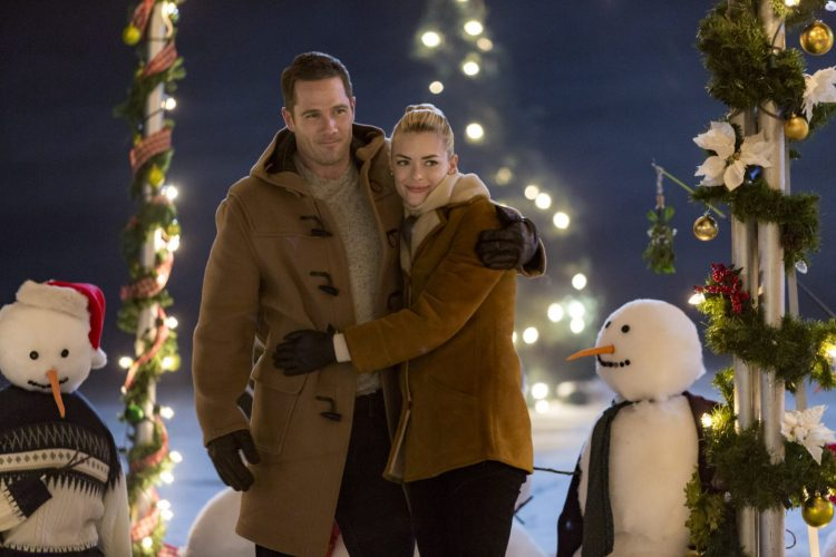 luke macfarlane and jaime king star in the mistletoe promise credit crown