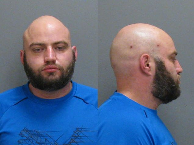 Victor Rivera, 37, of Jamestown has been charged in two gas station robberies. (Jamestown police)