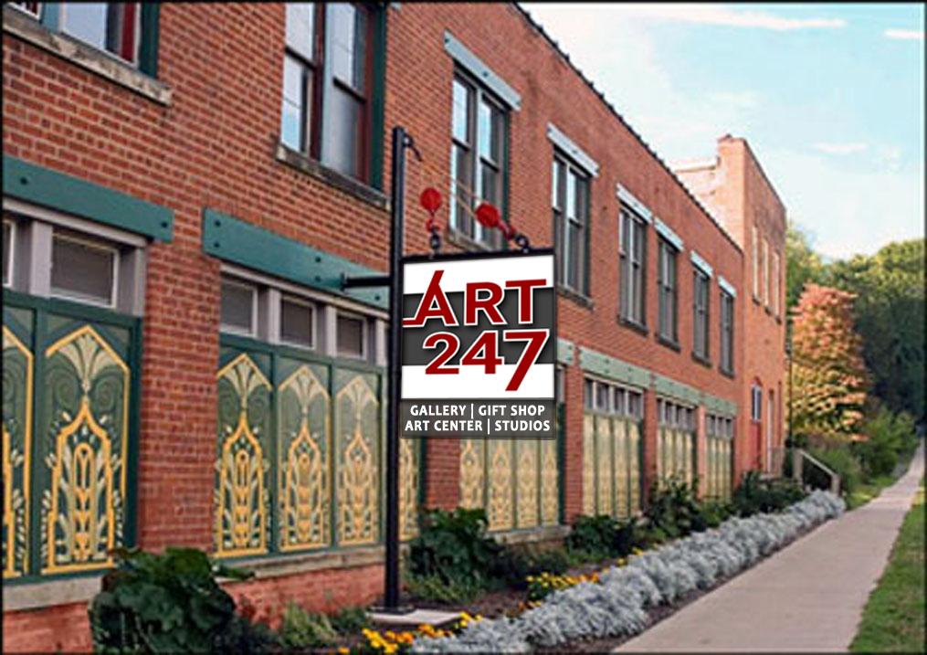 ART247 Gallery, Market Street in Lockport