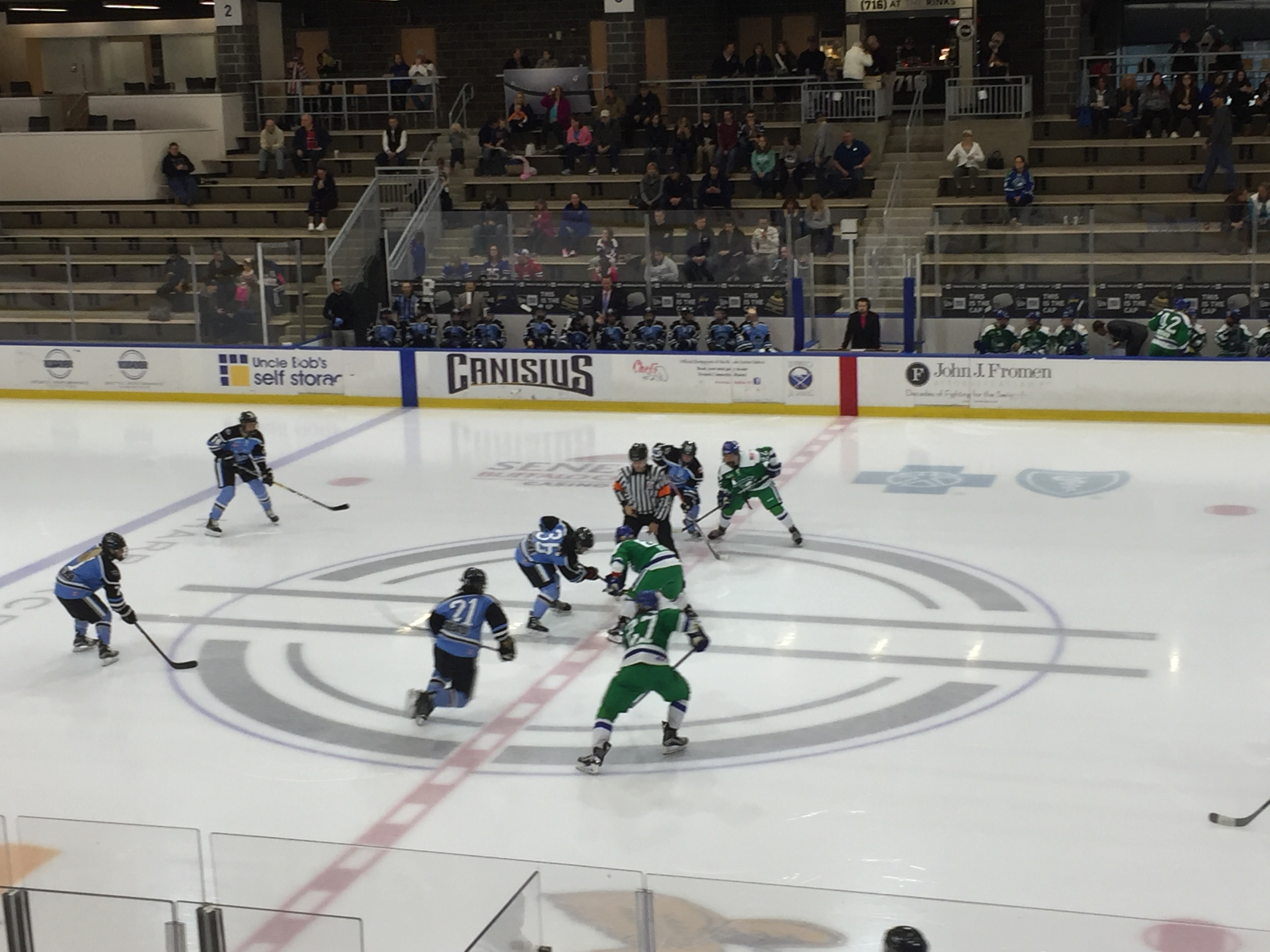 The Buffalo Beauts hosted the Connecticut Whale in HarborCenter Sunday.