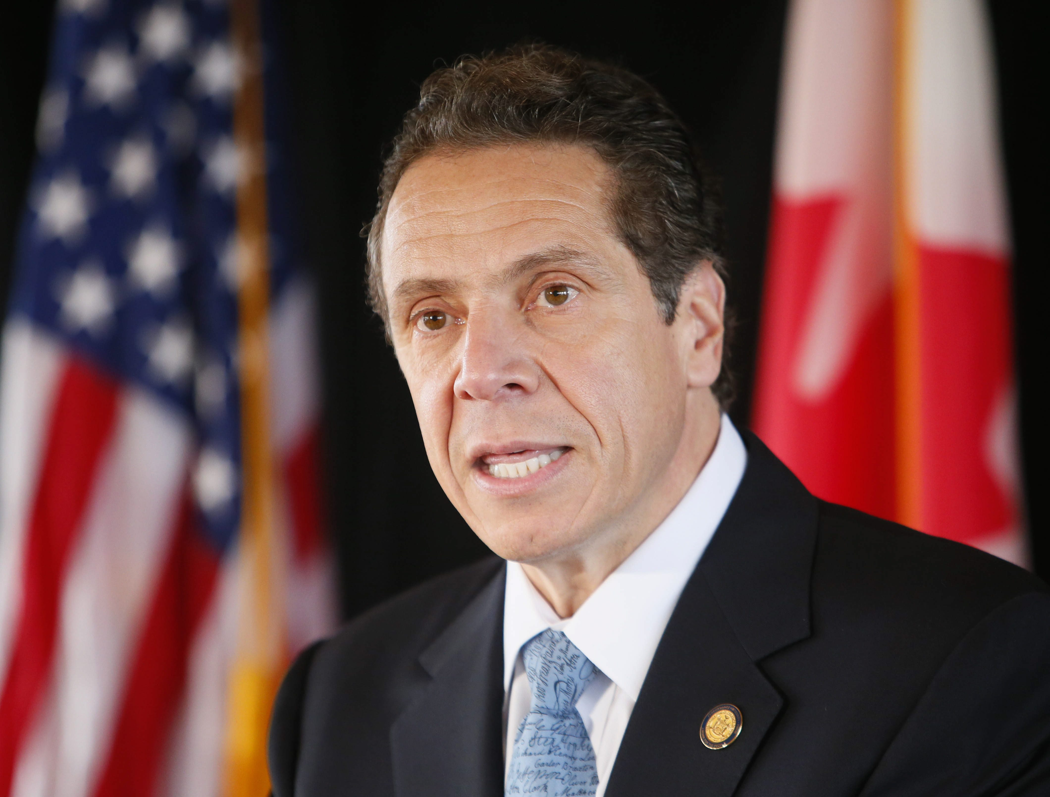Gov. Andrew M. Cuomo will meet with President-elect Donald J. Trump on Wednesday. (Derek Gee/Buffalo News)
