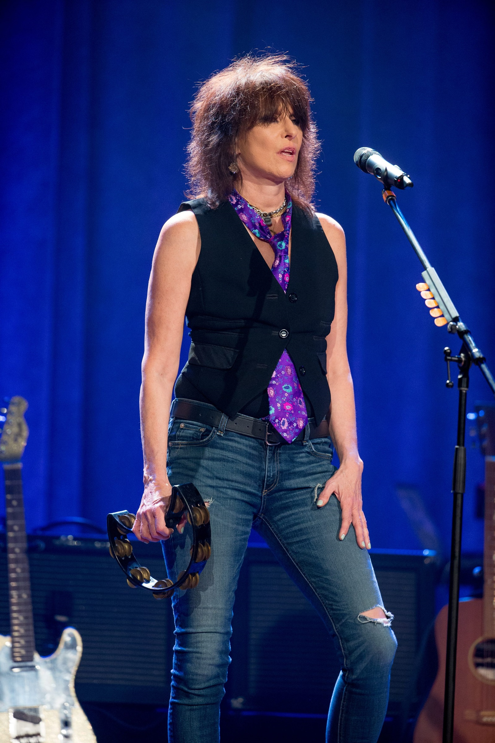 Chrissie Hynde and The Pretenders have scheduled a show at Town Ballroom.  (Getty Images)