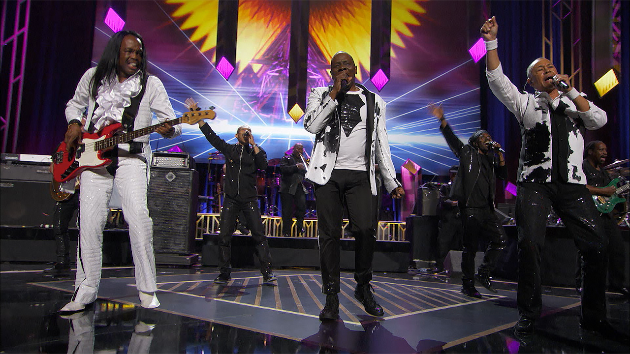 The surviving members of Earth Wind & Fire performed as part of the 'Grammy Salute to Music Legends.'