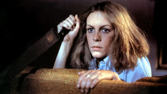 Jamie Lee Curtis stars in the original  horror classic 'Halloween.'