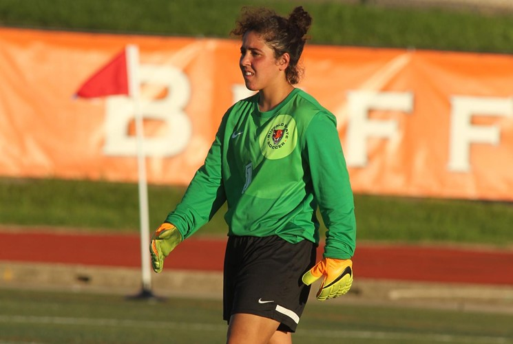 Freshman goalie Taylor Carillo extended her scoreless streak to 709 minutes, 55 seconds as the Bengals beat Cortland, 1-0, on Saturday.