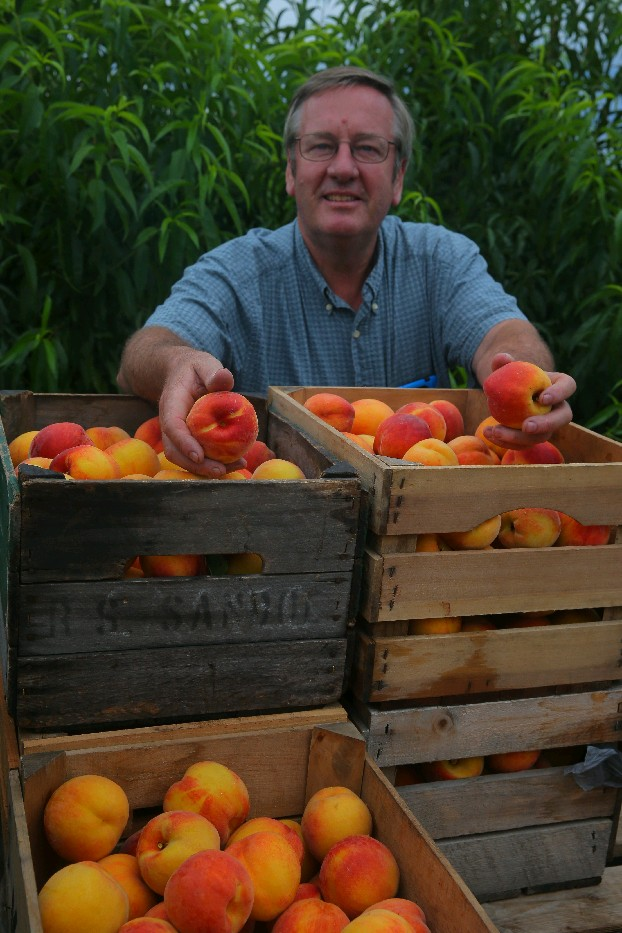 Jim Bittner, owner of Bittner-Singer Farms in Appleton, will be among workshop participants during the World on Your Plate conference Oct. 7-8 in Amherst. (John Hickey/Buffalo News file photo)
