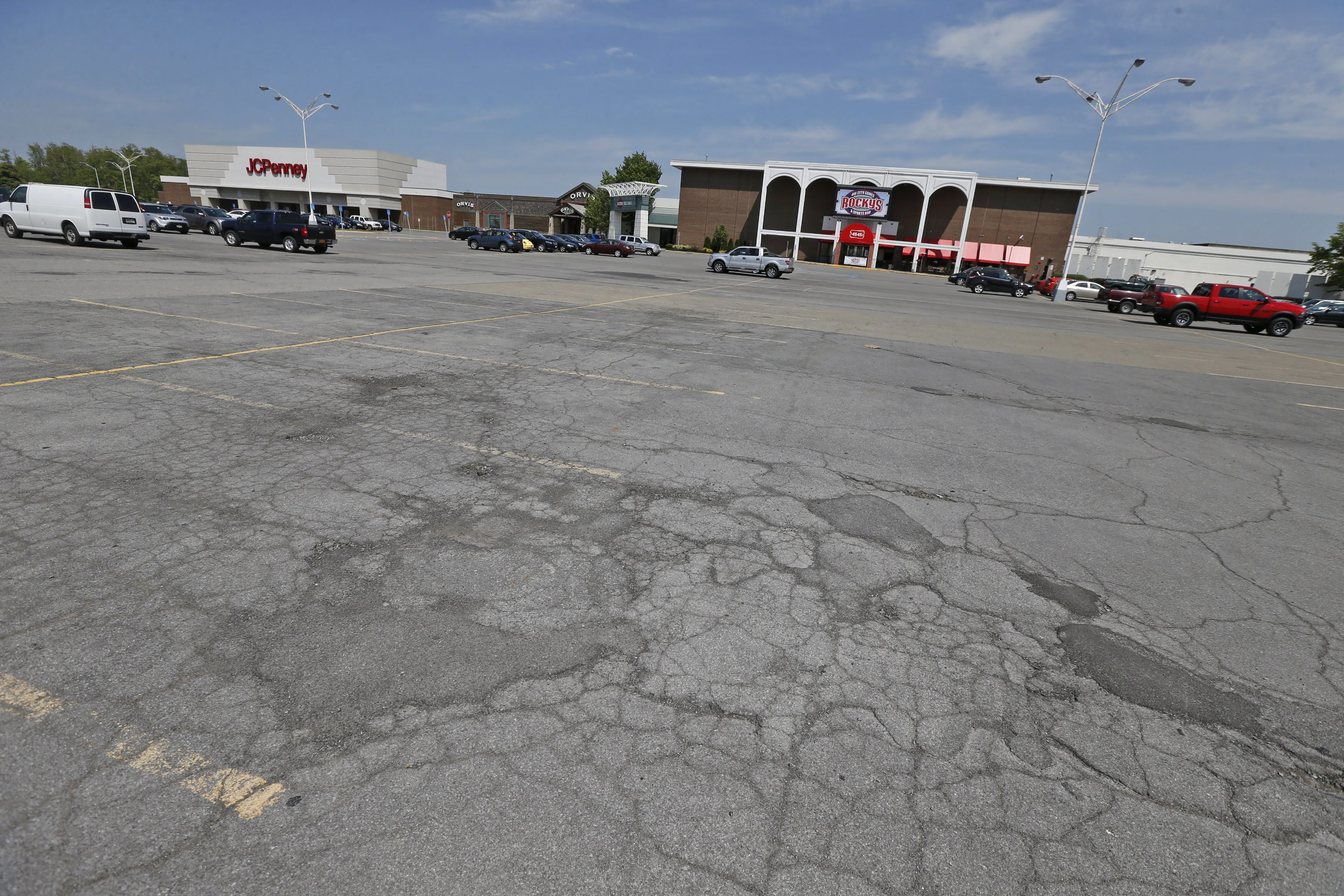 Most days of the year one can find a parking spot at the Eastern Hills Mall. (Robert Kirkham/Buffalo News)