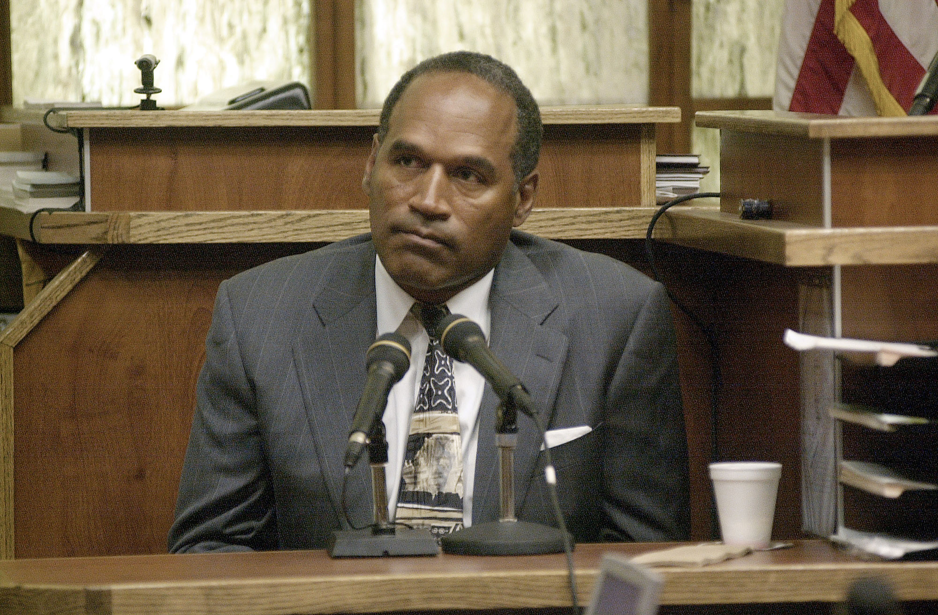 O.J. Simpson was granted parole Thursday by the Nevada Board of Parole Commissioners. (Getty Images)
