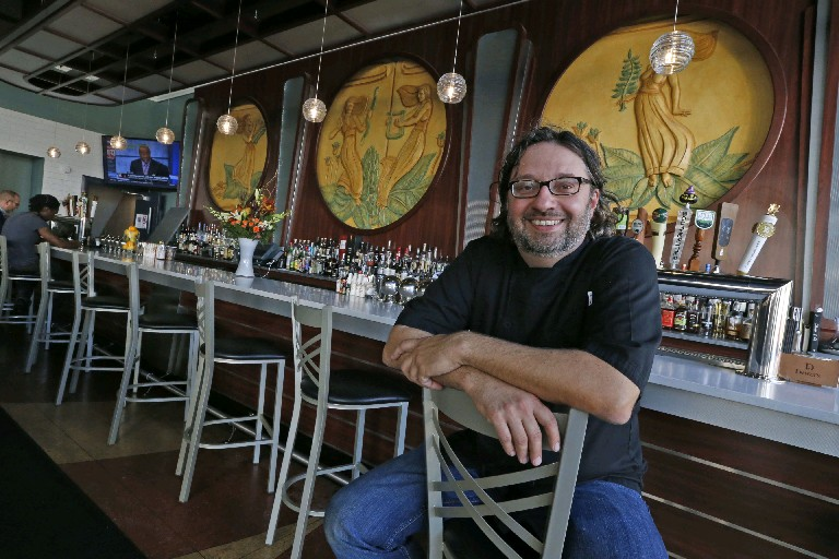 """People are eating healthier...,"" says Jim Guarino, Oshun Oyster Bar chef and owner."