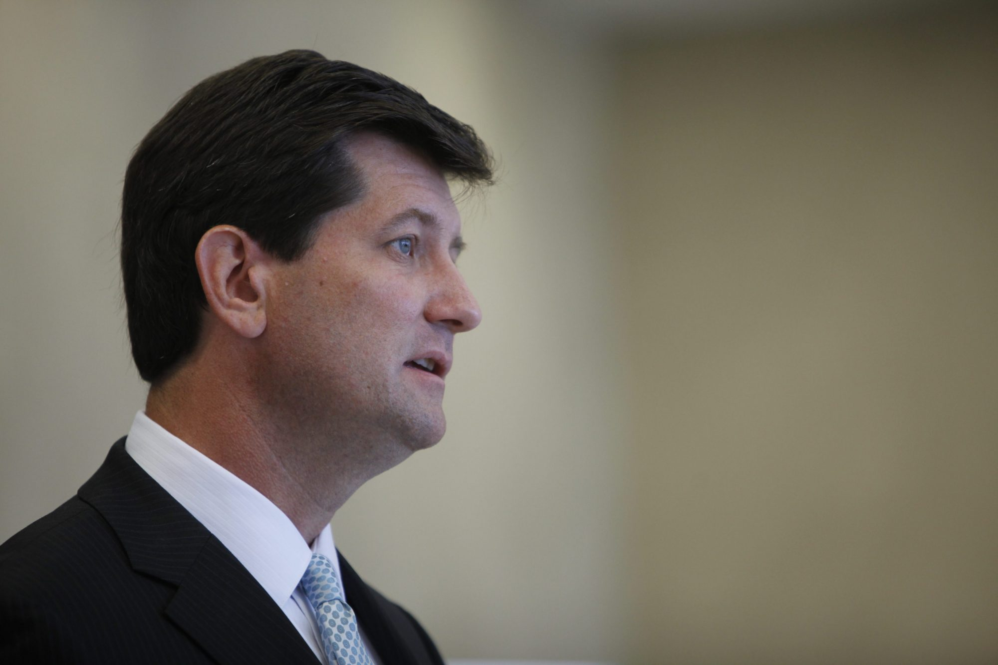 Erie County Executive Mark Poloncarz delivered his annual State of the County address Wednesday. (Derek Gee/News file photo)