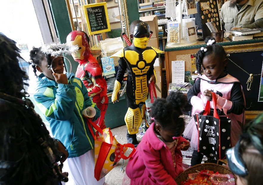 Halloween trick or treating can be fun and a bit healthier at the same time. (Derek Gee/Buffalo News file photo)