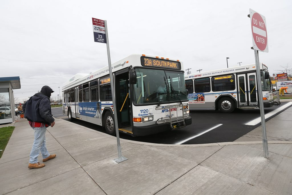 A new report by the Partnership for the Public good recommends more NFTA funding for improved public transportation that connects more people of color with jobs. (News file photo)
