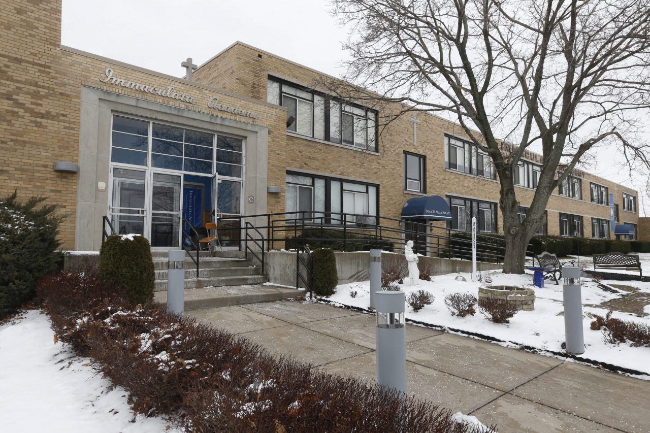 Immaculata Academy on South Park Avenue in Hamburg closed in 2016 and is now slated for redevelopment. (Robert Kirkham/News file photo)