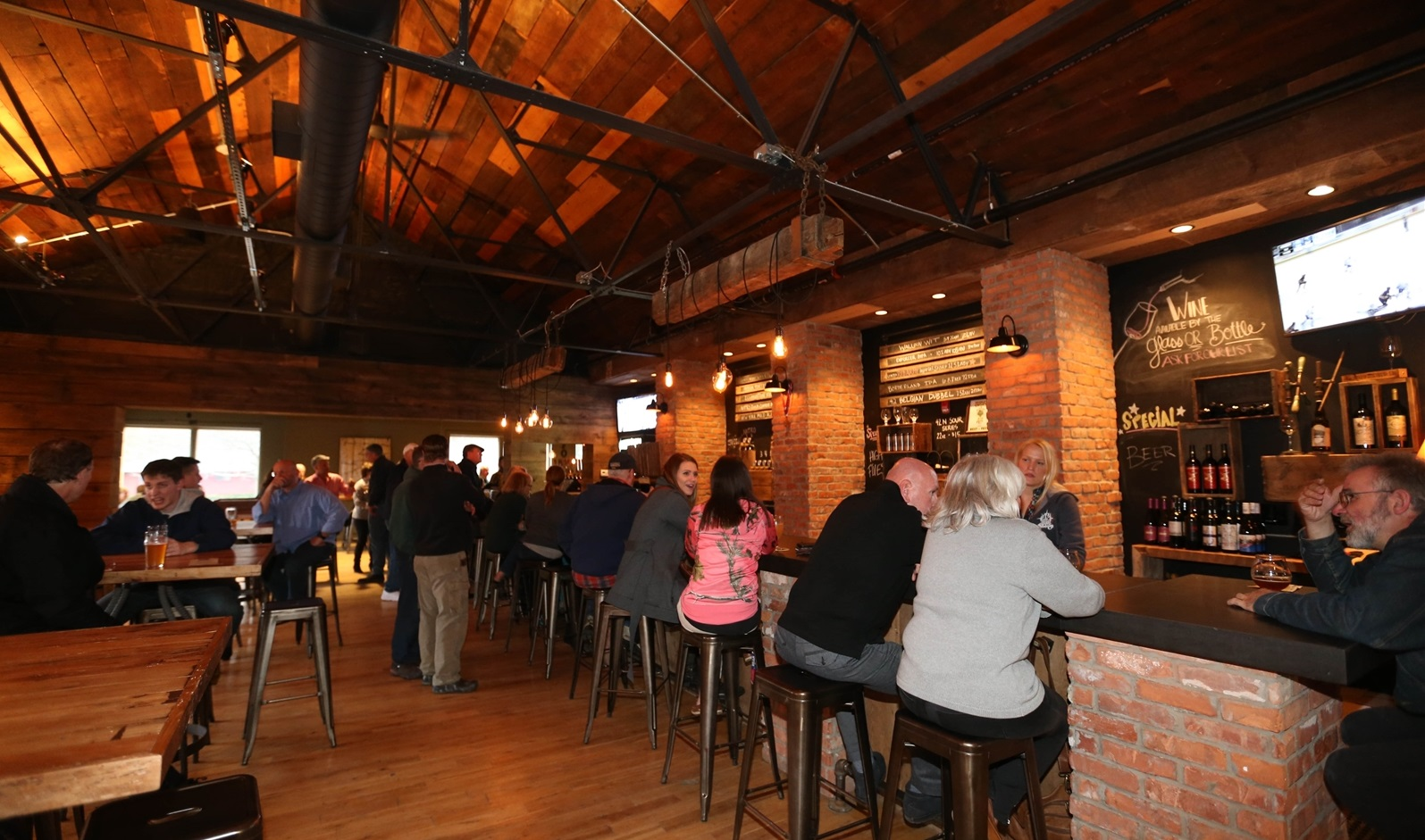 East Aurora's 42 North Brewing's returns its Asylum Porter for another winter. (Sharon Cantillon/Buffalo News file photo)