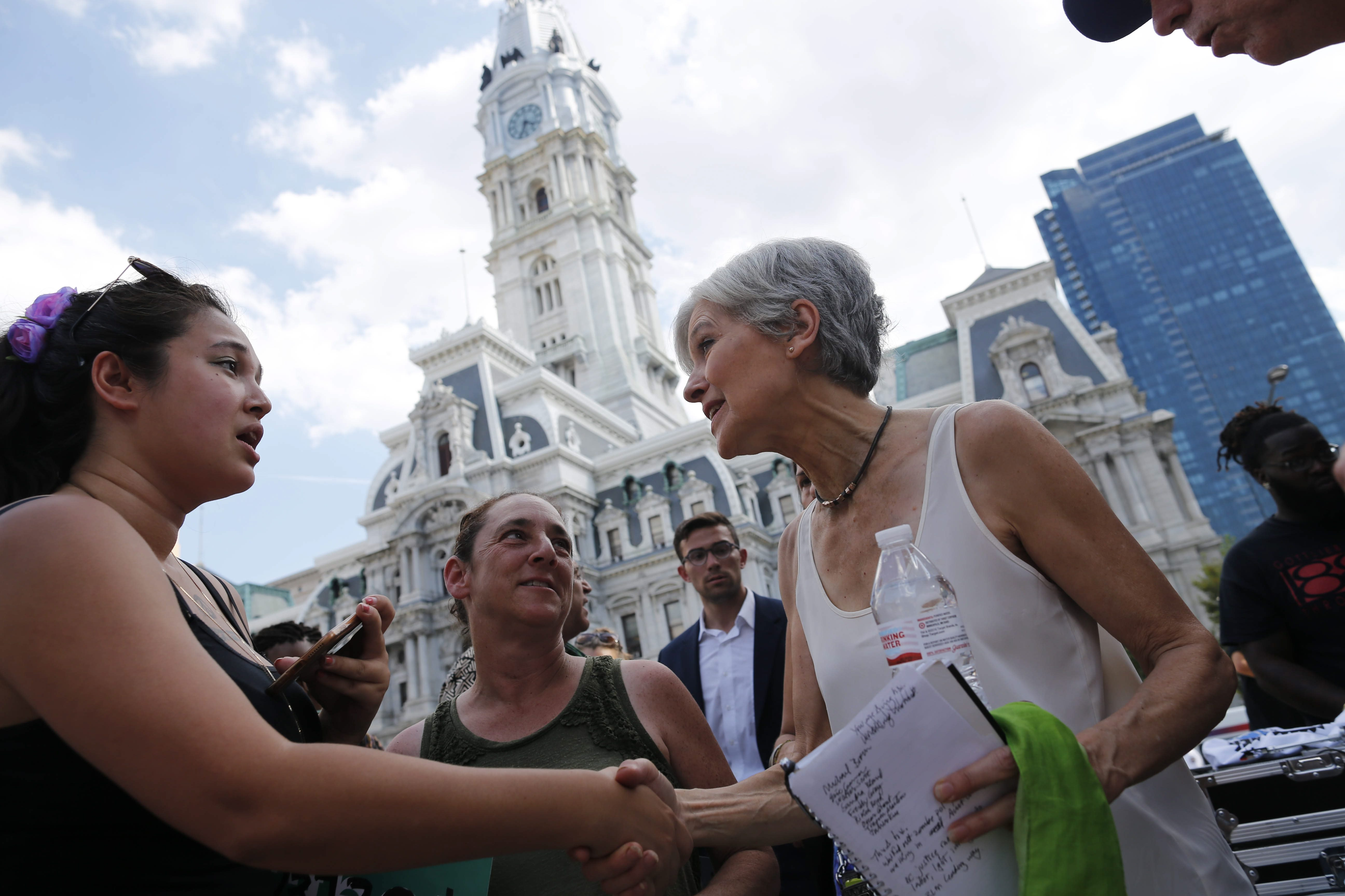 Jill Stein, the Green Party candidate for president, is leading efforts to mount vote recounts in at least one state. (Derek Gee/News file photo)