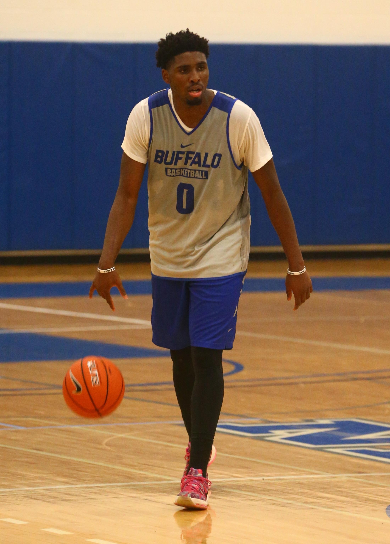 Blake Hamilton is the kind of player who fills up the stat sheet. (John Hickey/Buffalo News)