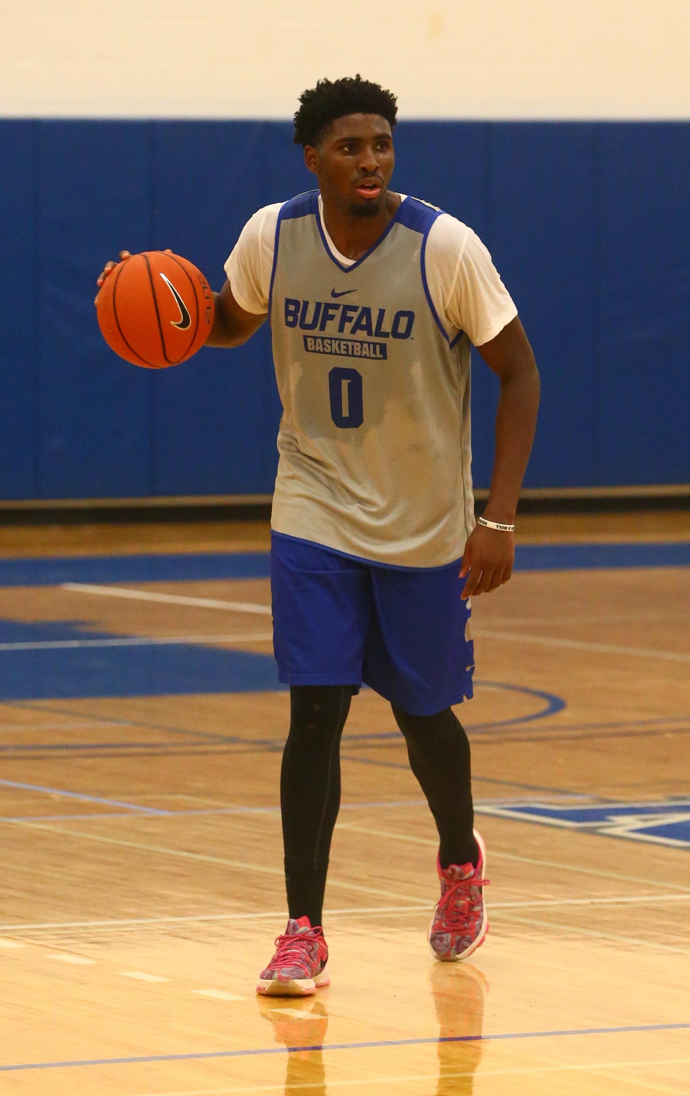 UB's Blake Hamilton.   (John Hickey/Buffalo News)