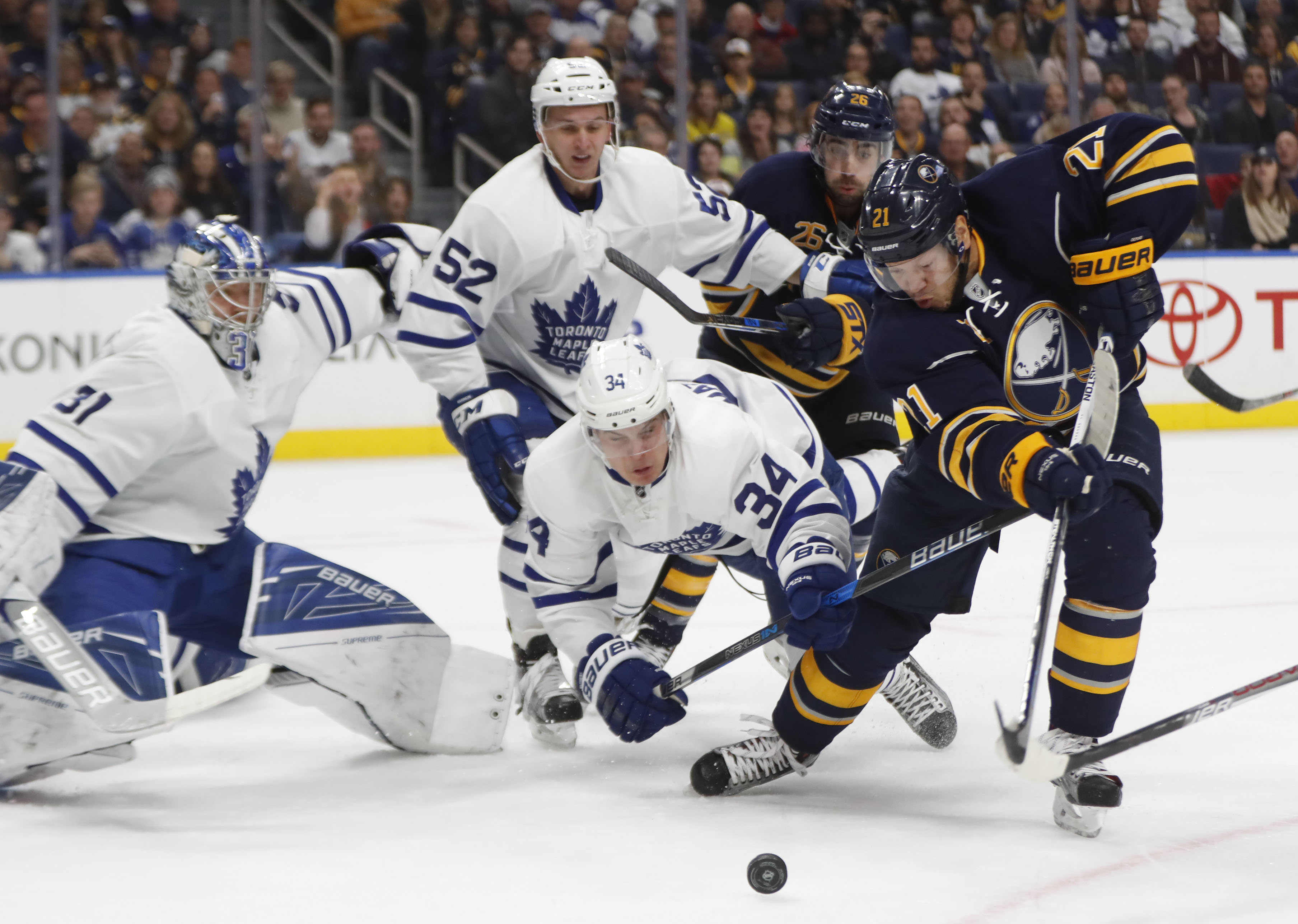 Quick hits: Maple Leafs 2, Sabres 1 – The Buffalo News