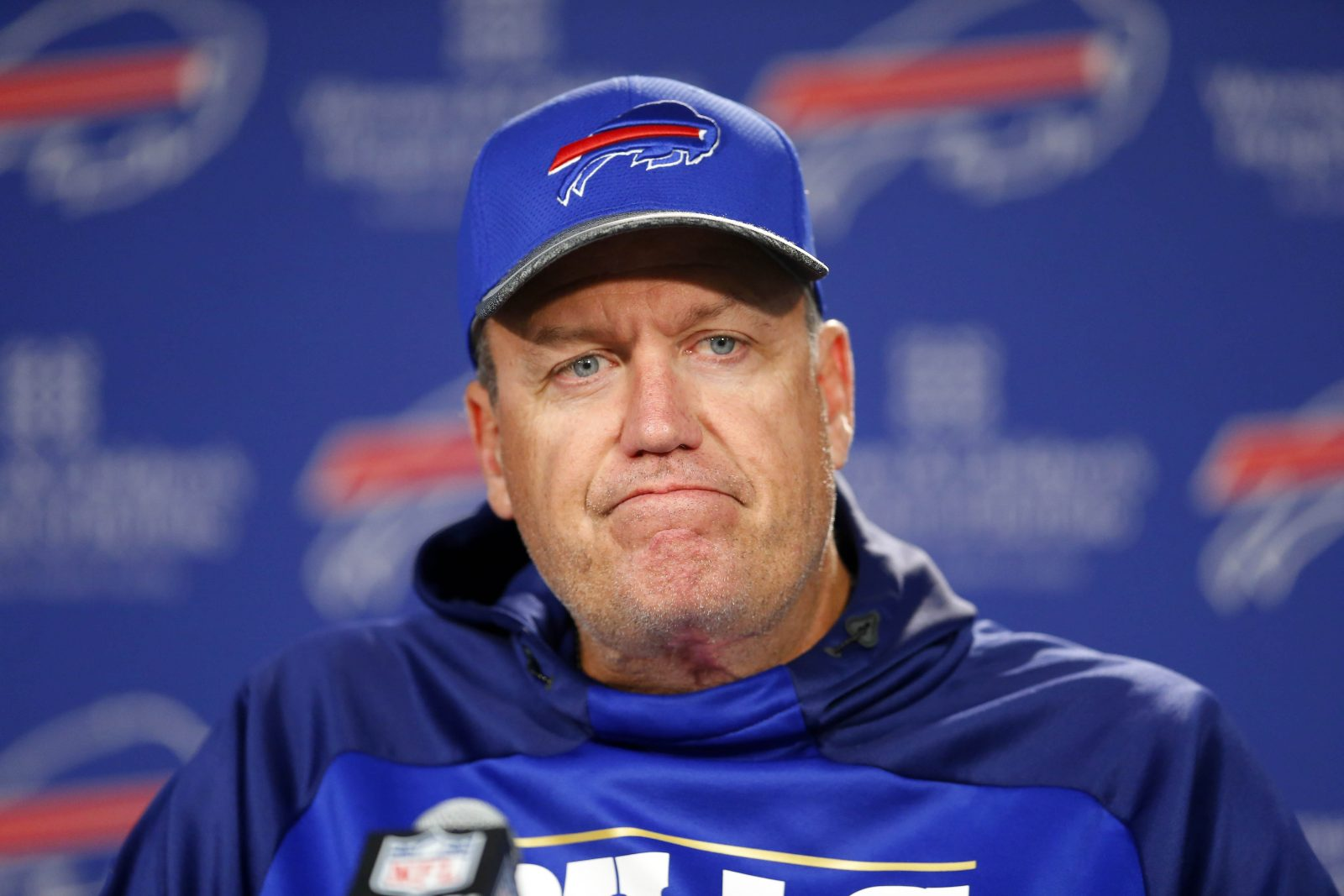 Rex Ryan might not have the role he wanted on Super Bowl Sunday, but he will be part of the action. (News file photo)