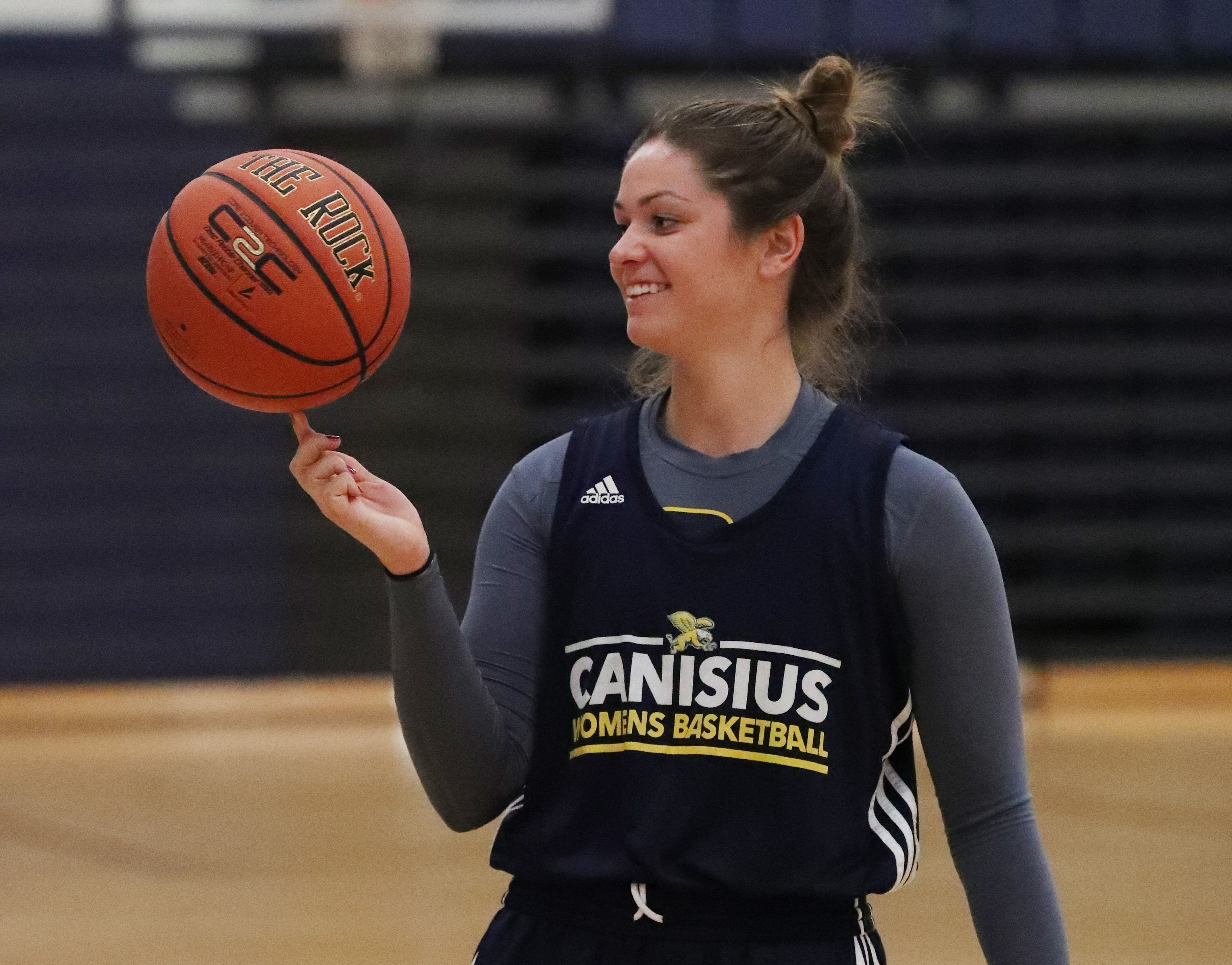 Lauren D'Hont is primed for a big year for Canisius. (James P. McCoy/Buffalo News)