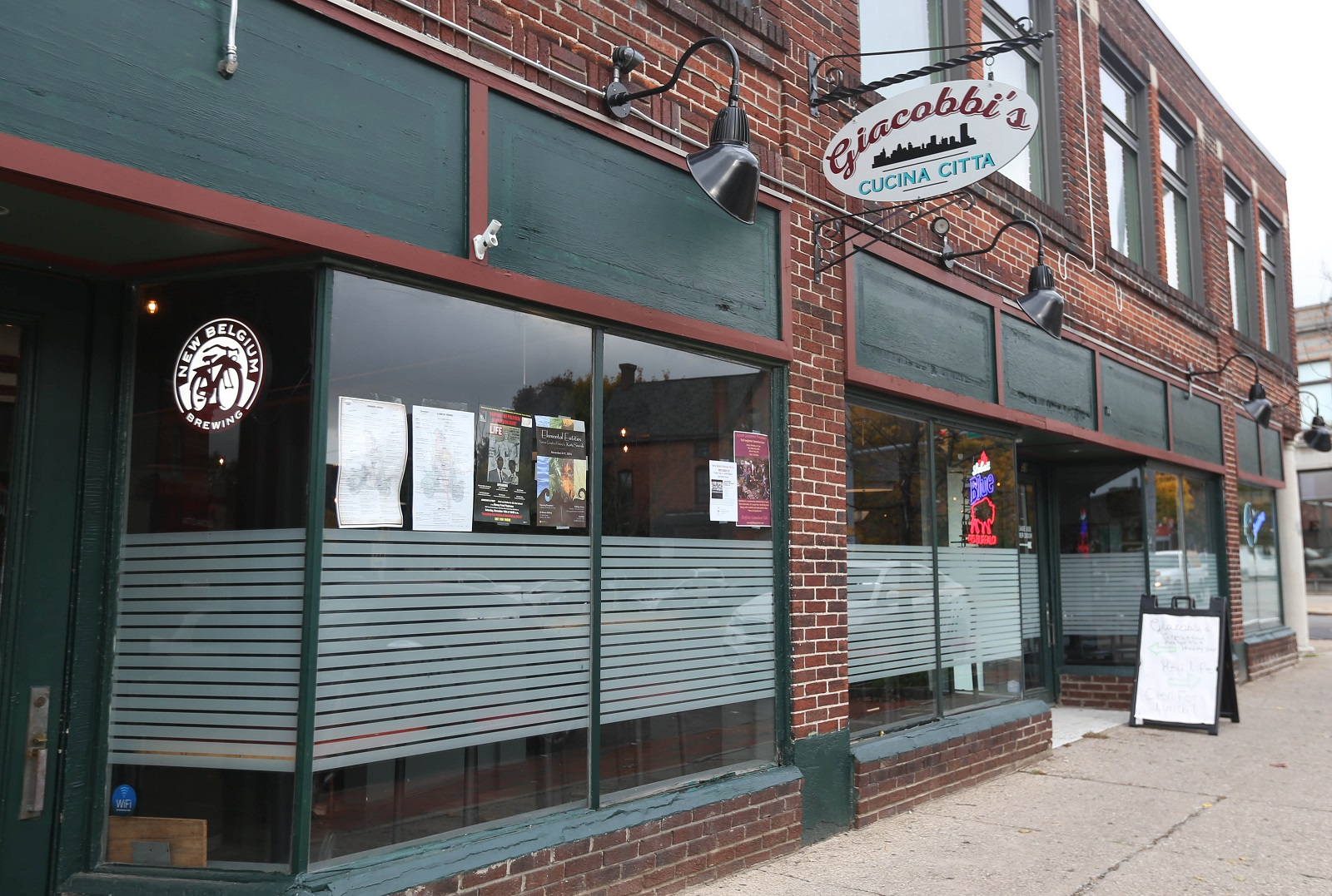 Giacobbi's Cucina Citta is at 59 Allen St. (Sharon Cantillon/Buffalo News)