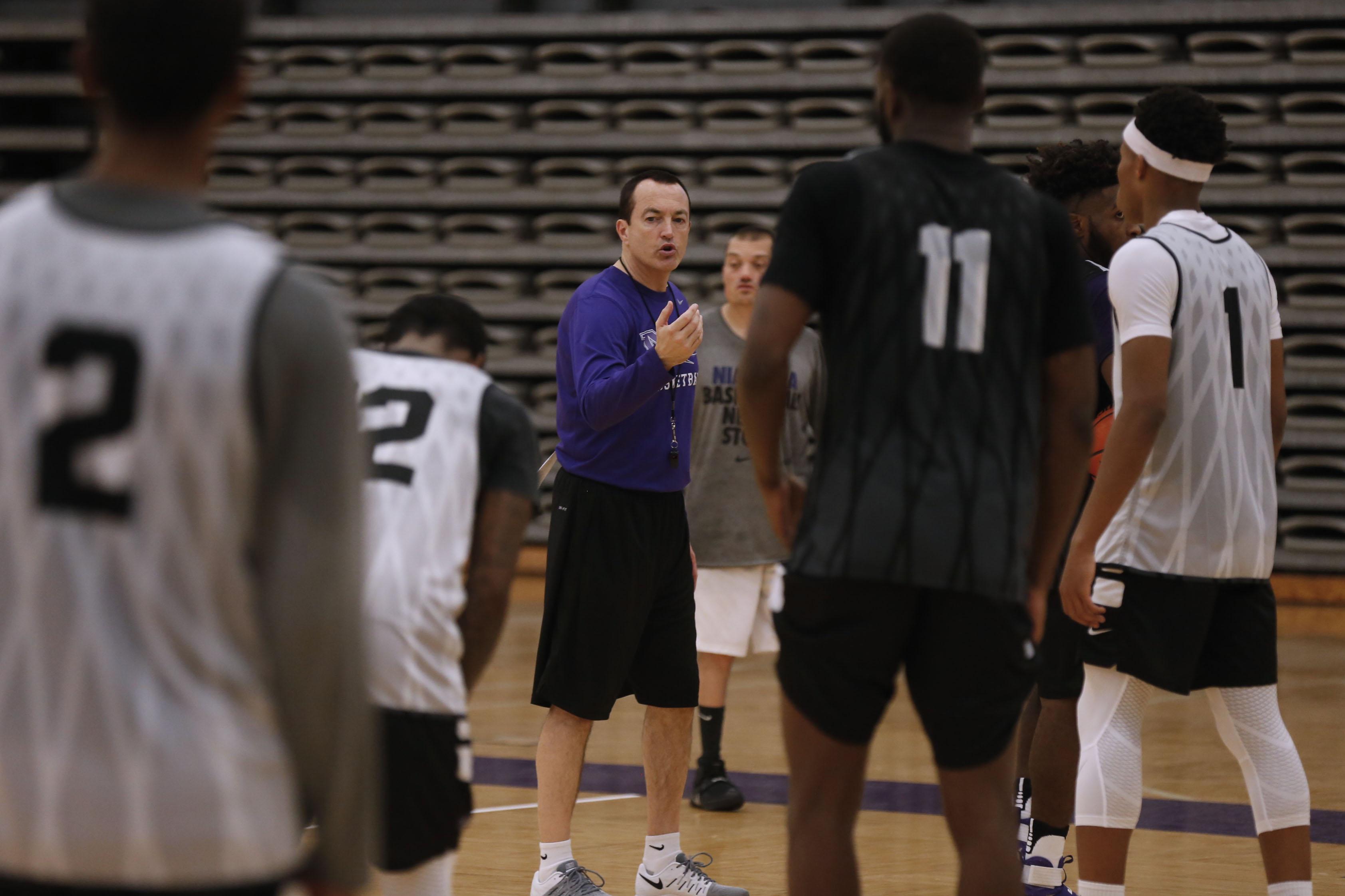 Chris Casey and the Purple Eagles will play 2017 NCAA Tournament team Minnesota this season. (Robert Kirkham/Buffalo News file photo)