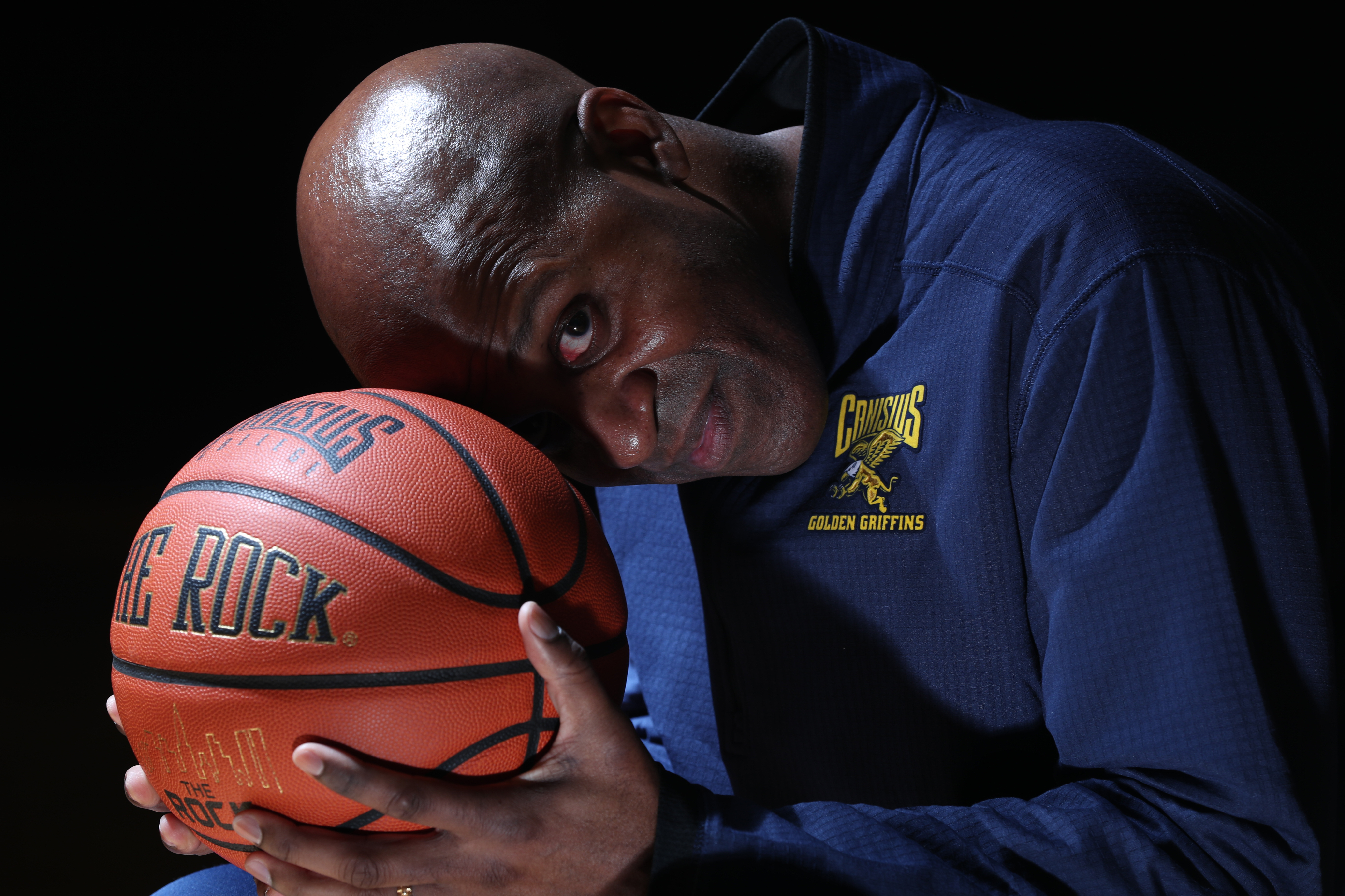 Three years after being let go by UB, Reggie Witherspoon returns home to lead Canisius. (James P. McCoy/Buffalo News)