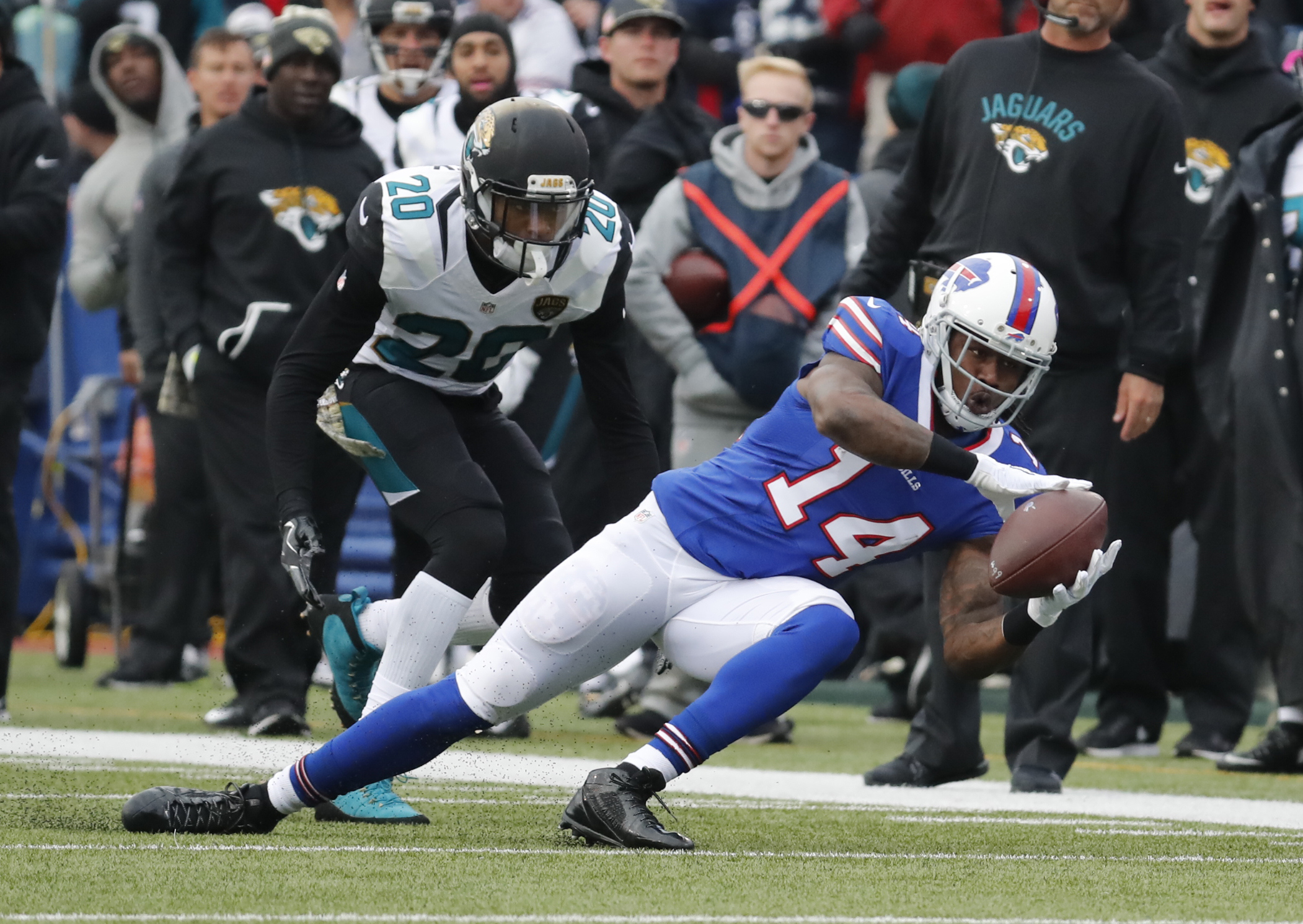 Sammy Watkins returned to action against Jacksonville Sunday. (Harry Scull Jr./Buffalo News)