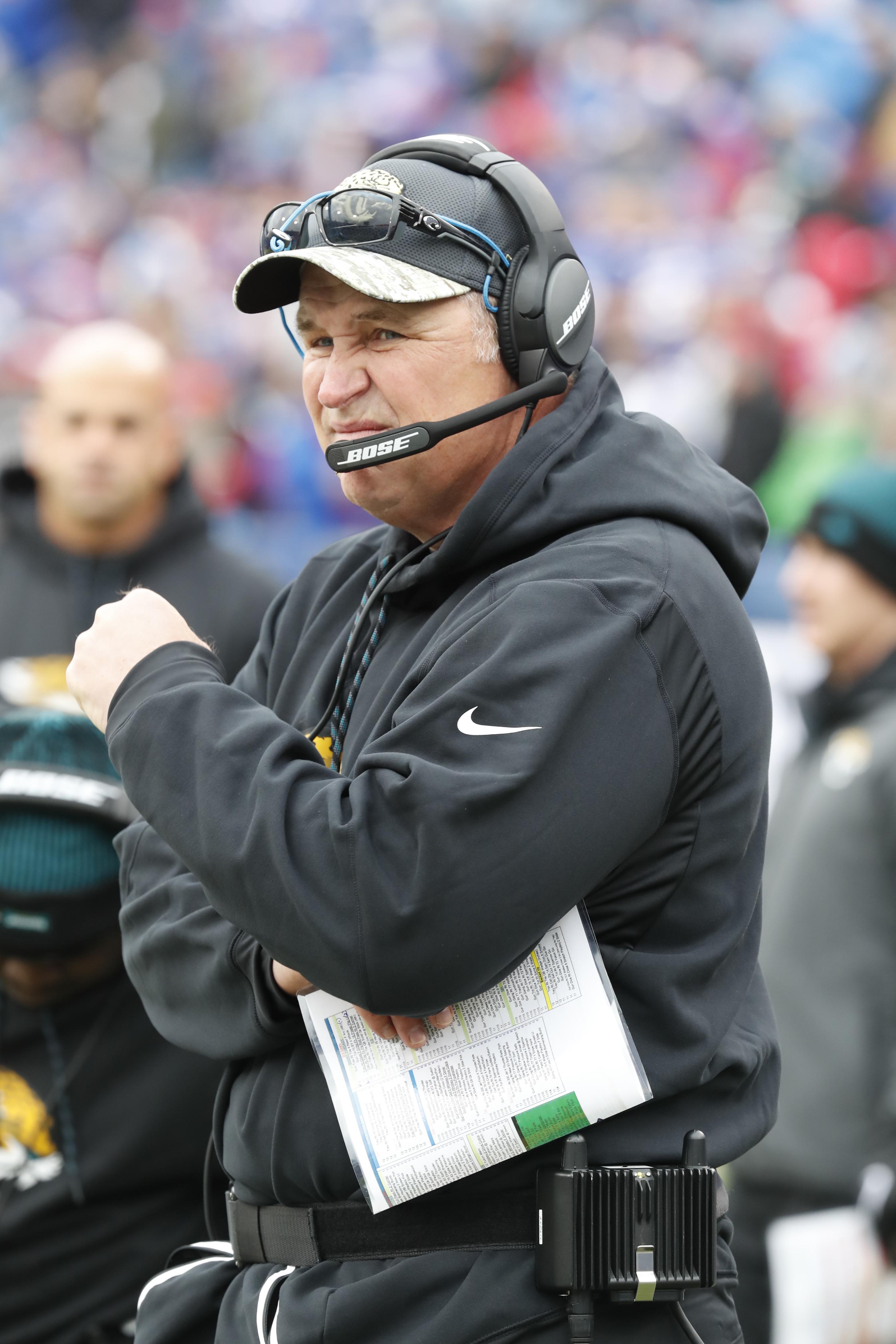 Jacksonville Jaguars  head coach Doug Marrone.(Harry Scull Jr./Buffalo News)