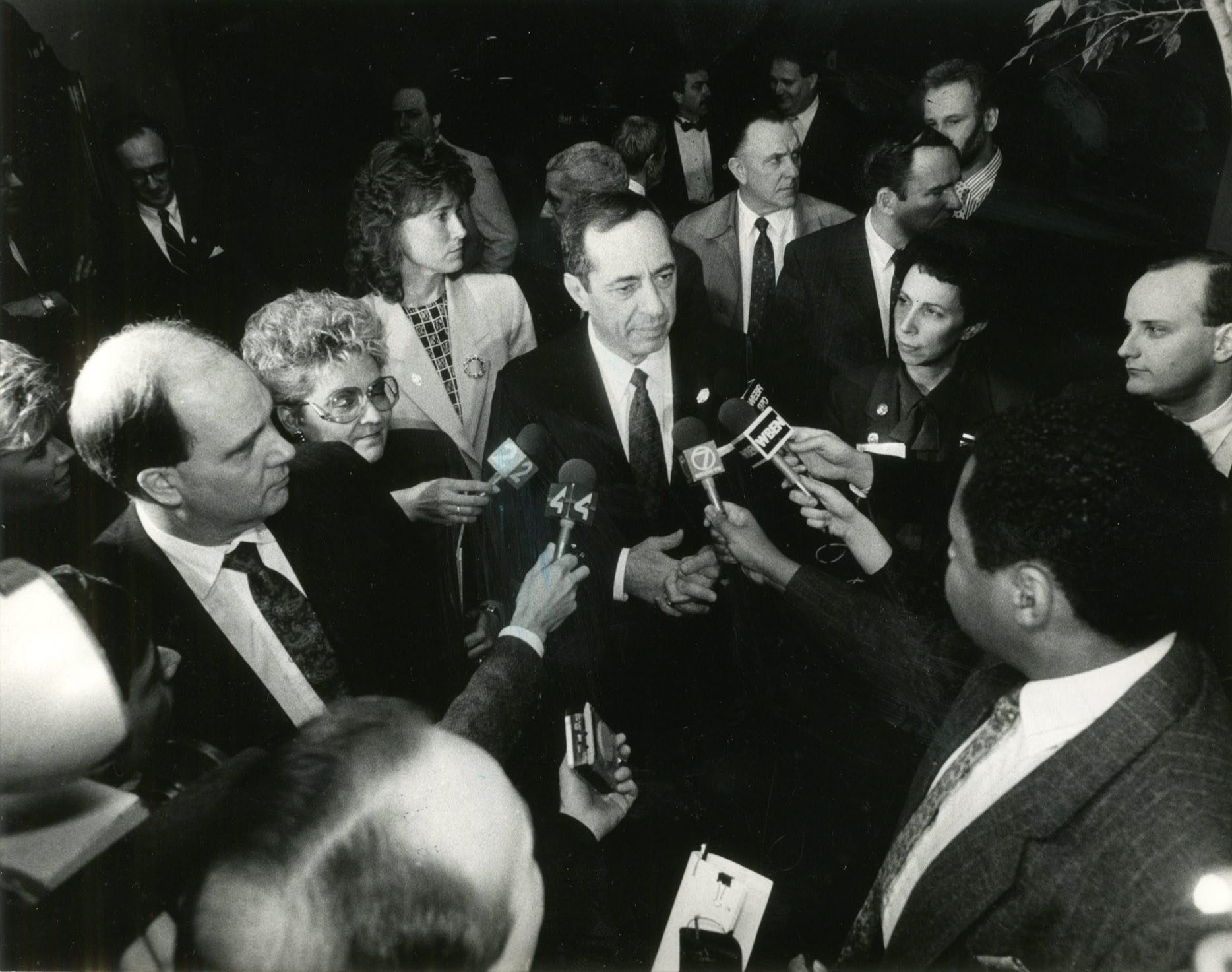 The late Mario Cuomo, when he served as governor of New York: He stepped away from a chance to run for president. (Buffalo News/File art)