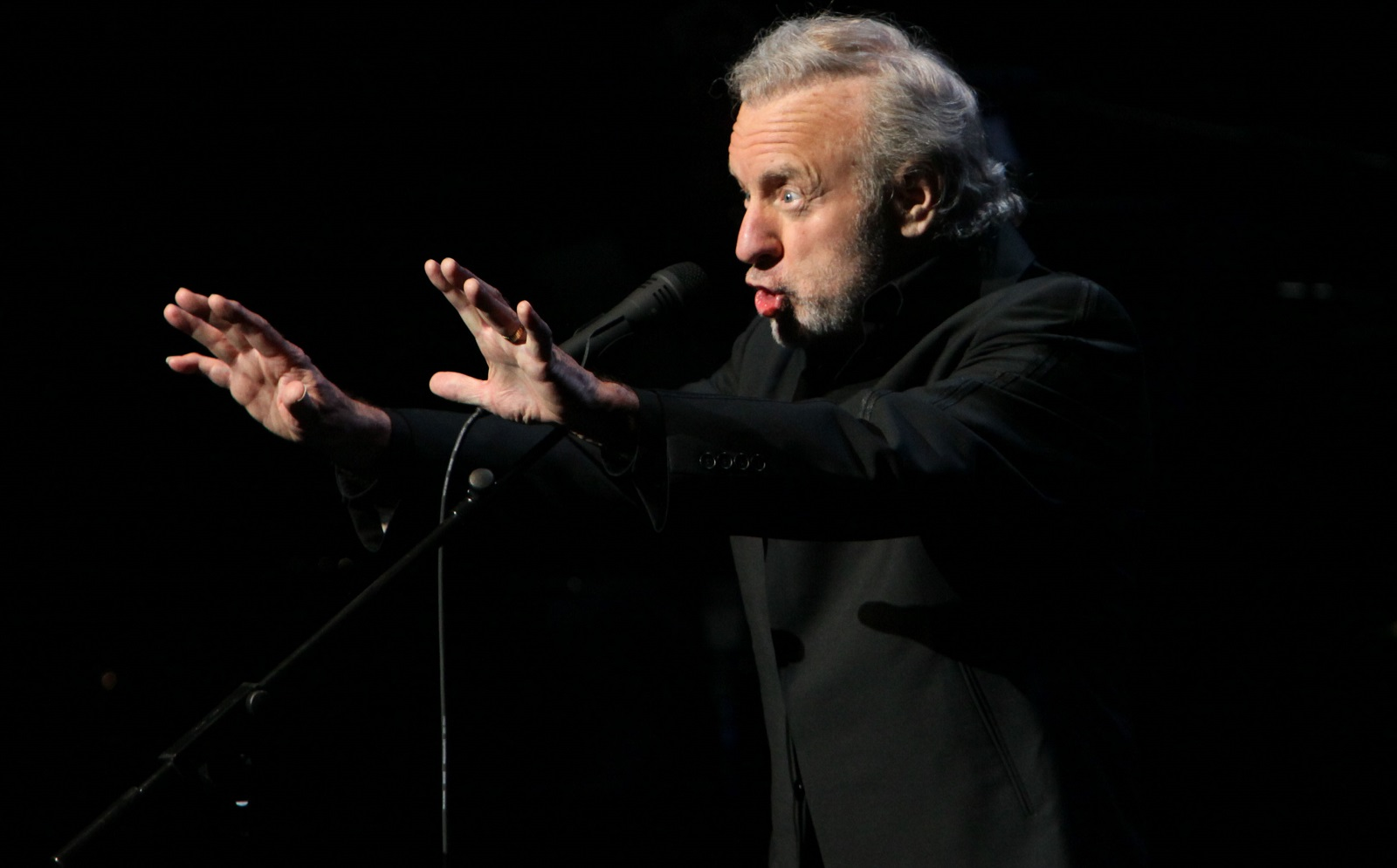 Colm Wilkinson, performing at the University at Buffalo in 2009, returns to the same venue on Nov. 26. (Buffalo News file photo)