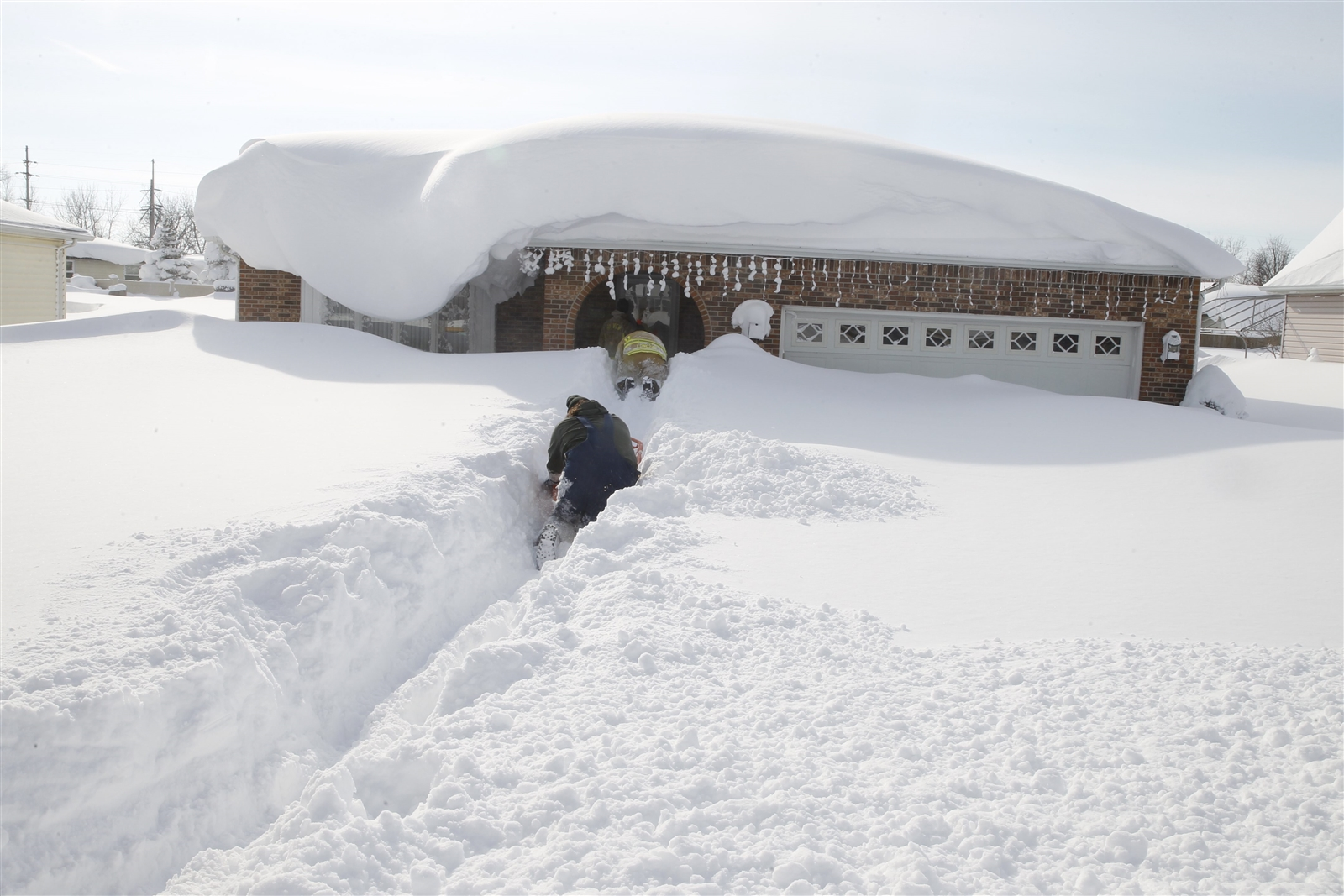 Meteorologist Don Paul offers a primer on lake-effect snow, on the anniversary of the 2014 November storms. (John Hickey/Buffalo News file photo)