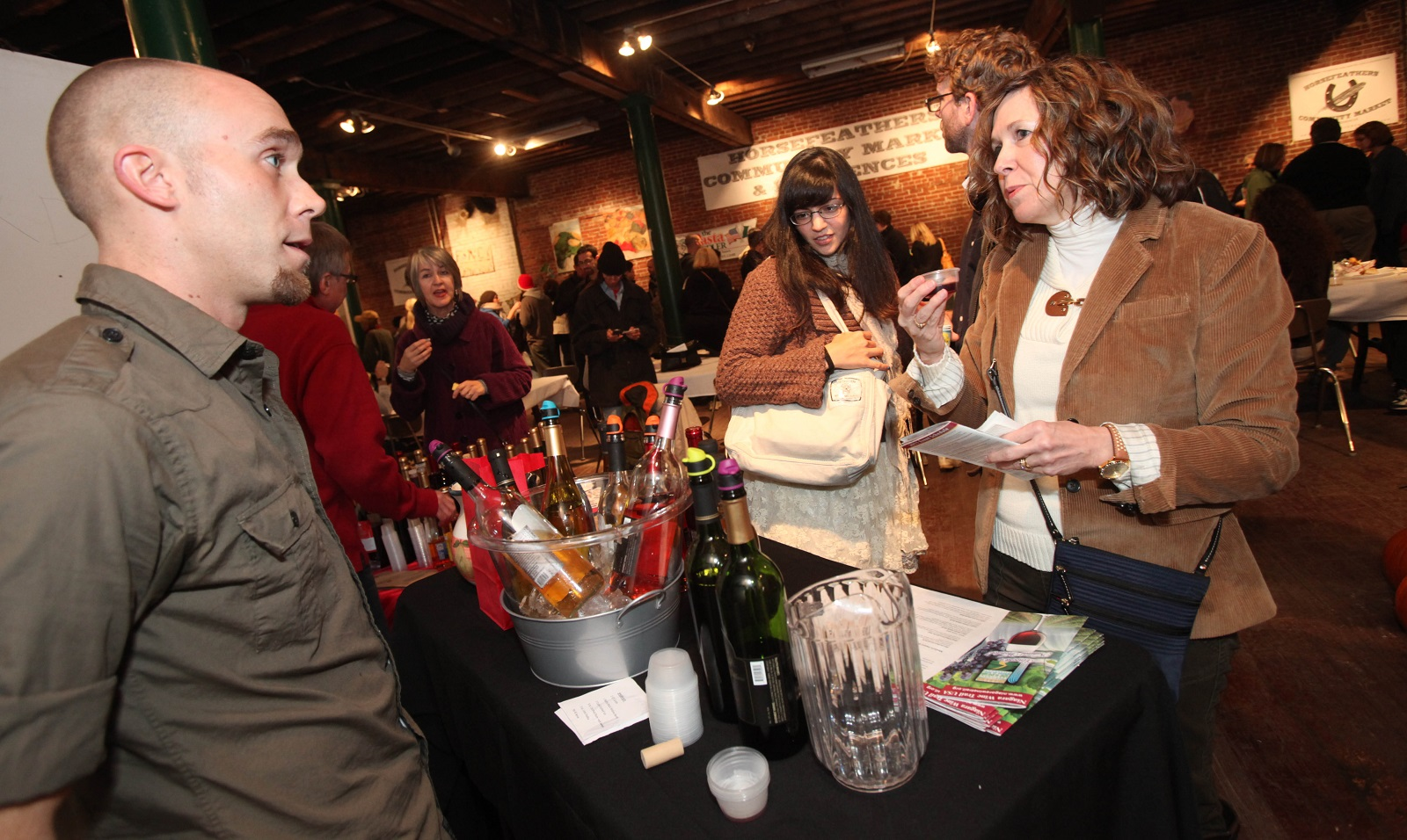 Horsefeathers Winter Market has returned to the West Side for its latest season. (Sharon Cantillon/News file photo)
