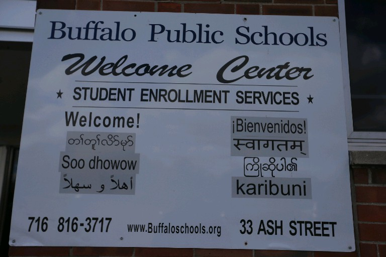 Buffalo schools have hired language specialists to help immigrant and refugees students navigate a system that can be foreign to them. (John Hickey/Buffalo News)