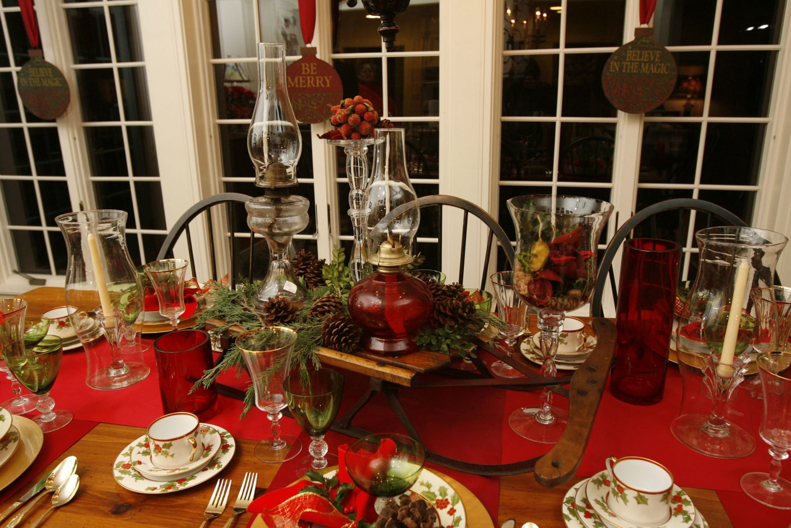 Your centerpiece doesn't have to be this elaborate, but it can be. (Photo by Sharon Cantillon/Buffalo News)