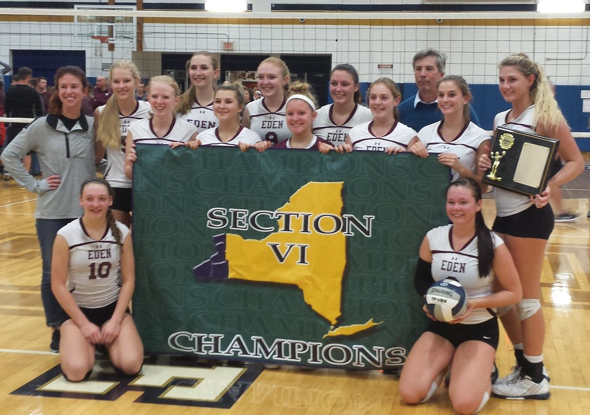 Eden captured the overall Section VI Class C title to keep hope alive in its quest to win an eighth straight state championship.