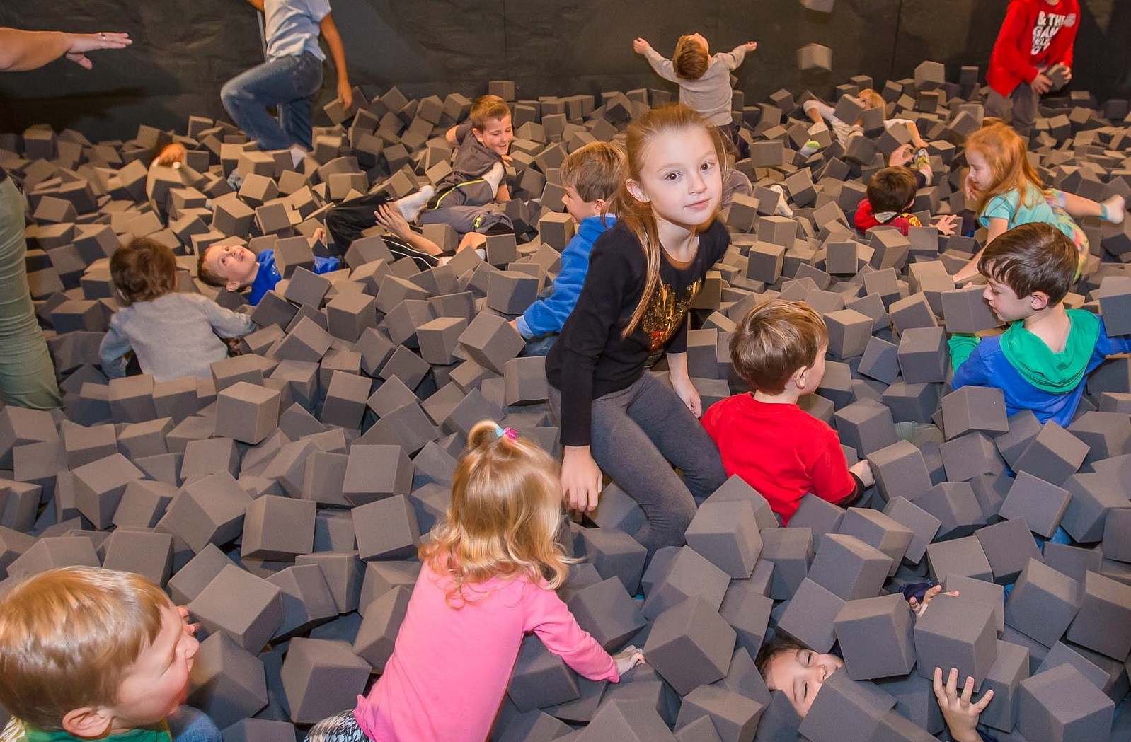 The Dig Pit at Dino Daze in the Buffalo Museum of Science. (Don Nieman/Special to The News)