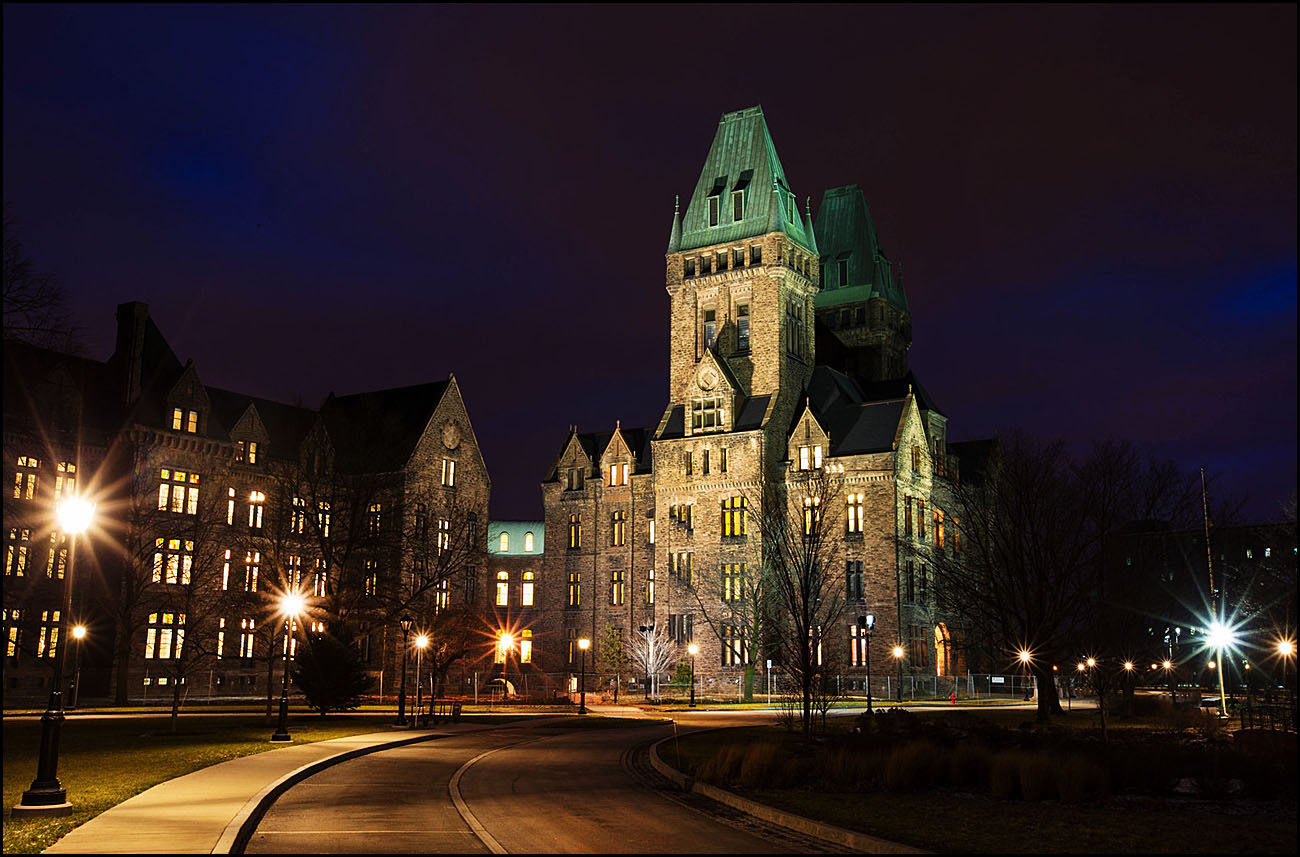 The Richardson Olmsted Complex completed in the late 1800s was designed by Henry Hobson Richardson as the Buffalo State Asylum for the Insane.  (Derek Gee/Buffalo News file photo)