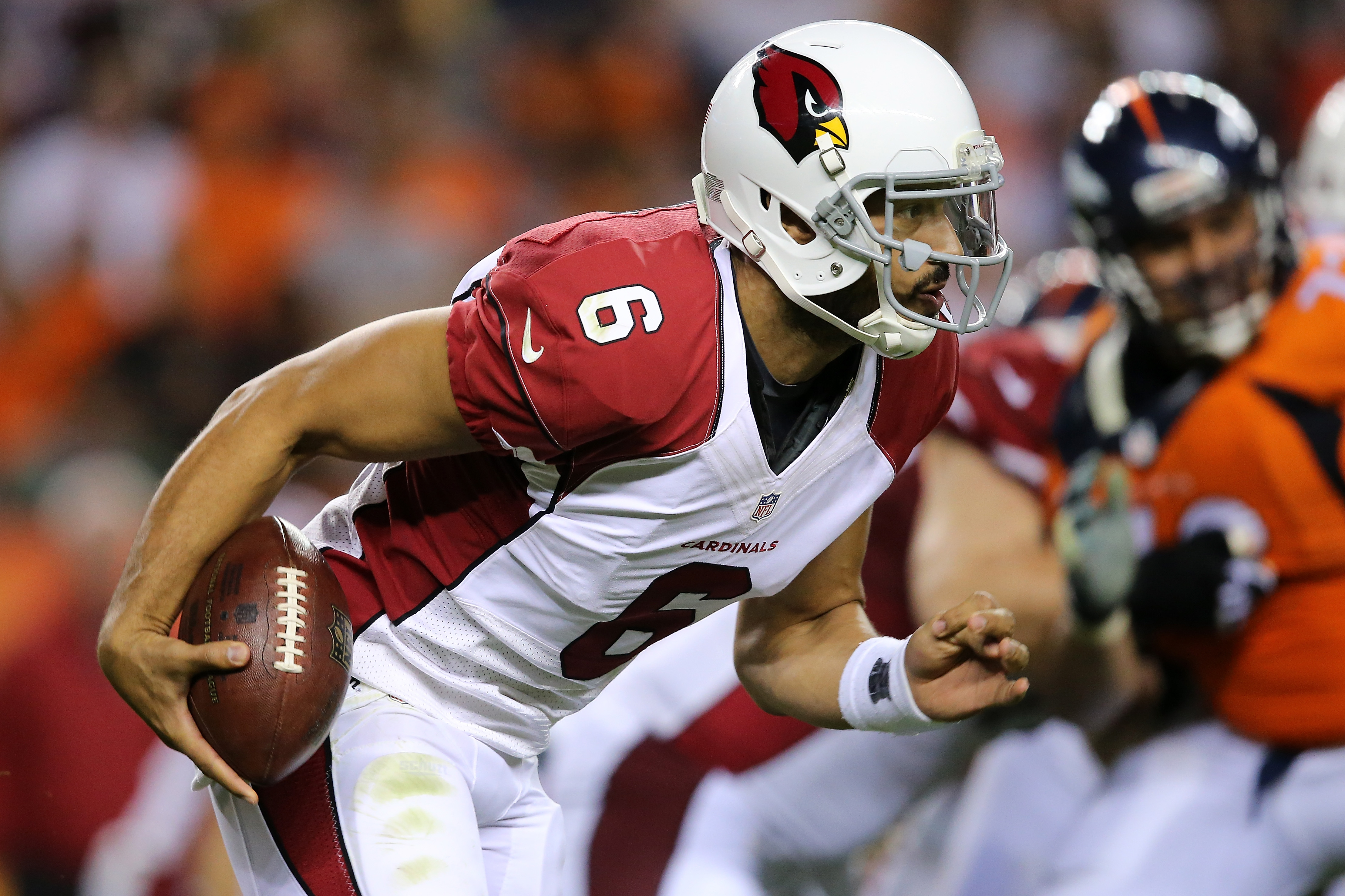 Logan Thomas has converted to tight end after entering the NFL as a quarterback with the Arizona Cardinals. (Getty Images)