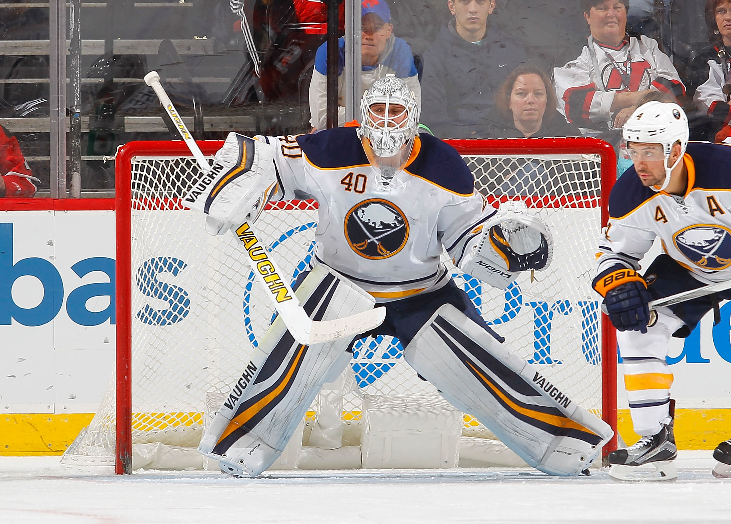 Robin Lehner is 2-0-2 with a .956 save percentage against his old team, Ottawa. (Getty Images)