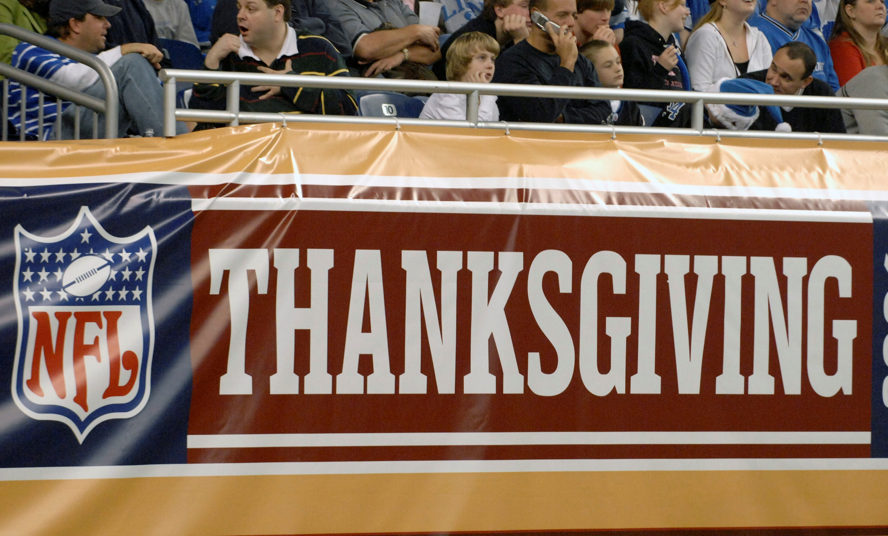 NFL games on Thanksgiving have been a tradition for decades. (Getty Images)