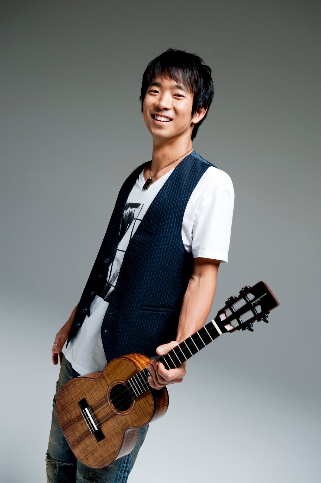Jake Shimabukuro tested the limits of the ukulele in Kleinhans Music Hall's Mary Seaton Room.
