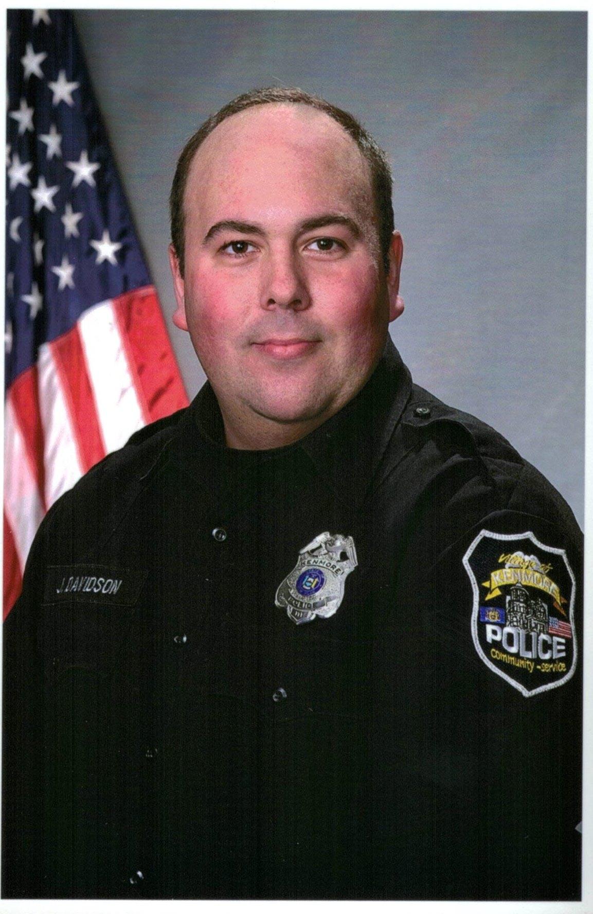 Kenmore Police Officer Joshua B. Davidson